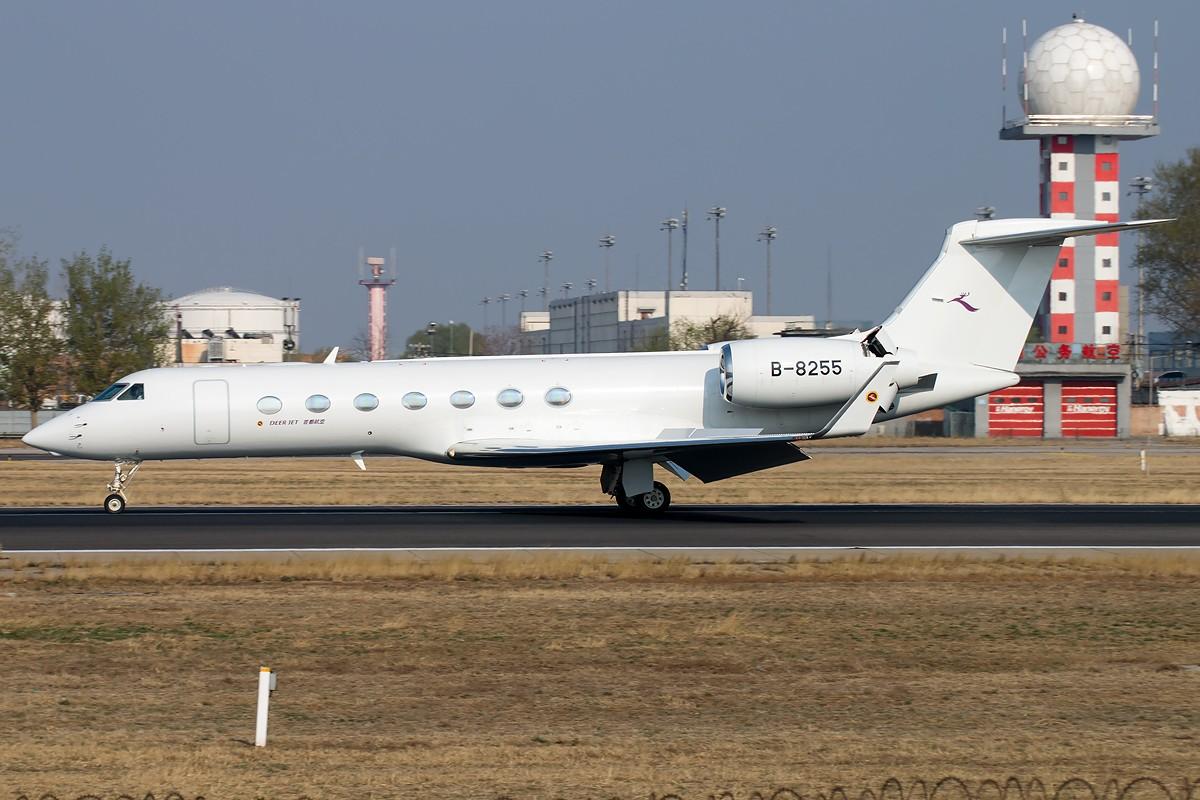 Re:[原创]雨 过 天 晴 [10pics] GULFSTREAM G550 B-8255 中国北京首都国际机场
