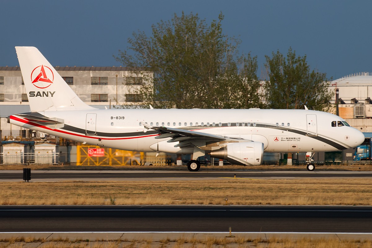 Re:[原创]雨 过 天 晴 [10pics] AIRBUS A319-115CJ B-8319 中国北京首都国际机场