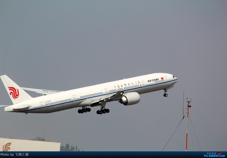 Re:[原创]清明小假在CKG拍机 BOEING 777-300ER  重庆江北国际机场