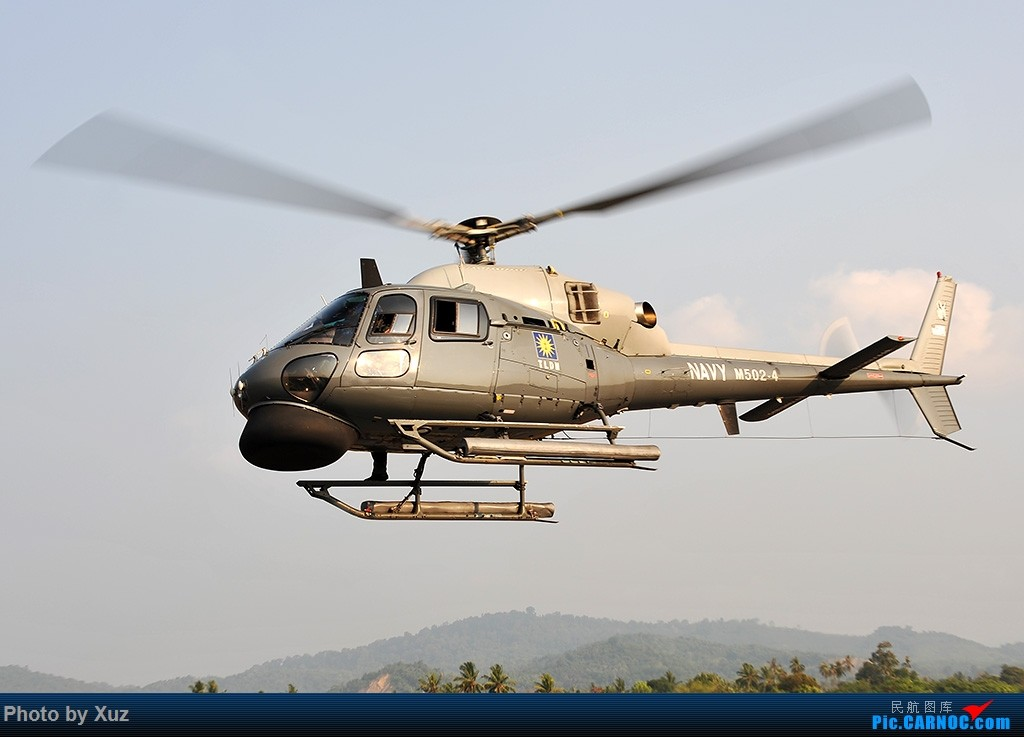 Re:[原创]LIMA15-直升机篇 EUROCOPTER AS555SN M502-4 马来西亚浮罗交怡机场