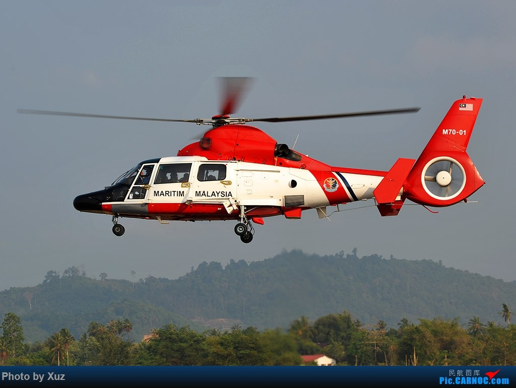 Re:[原创]LIMA15-直升机篇 EUROCOPTER AS-365N-3 DAUPHIN 2 M70-01 马来西亚浮罗交怡机场