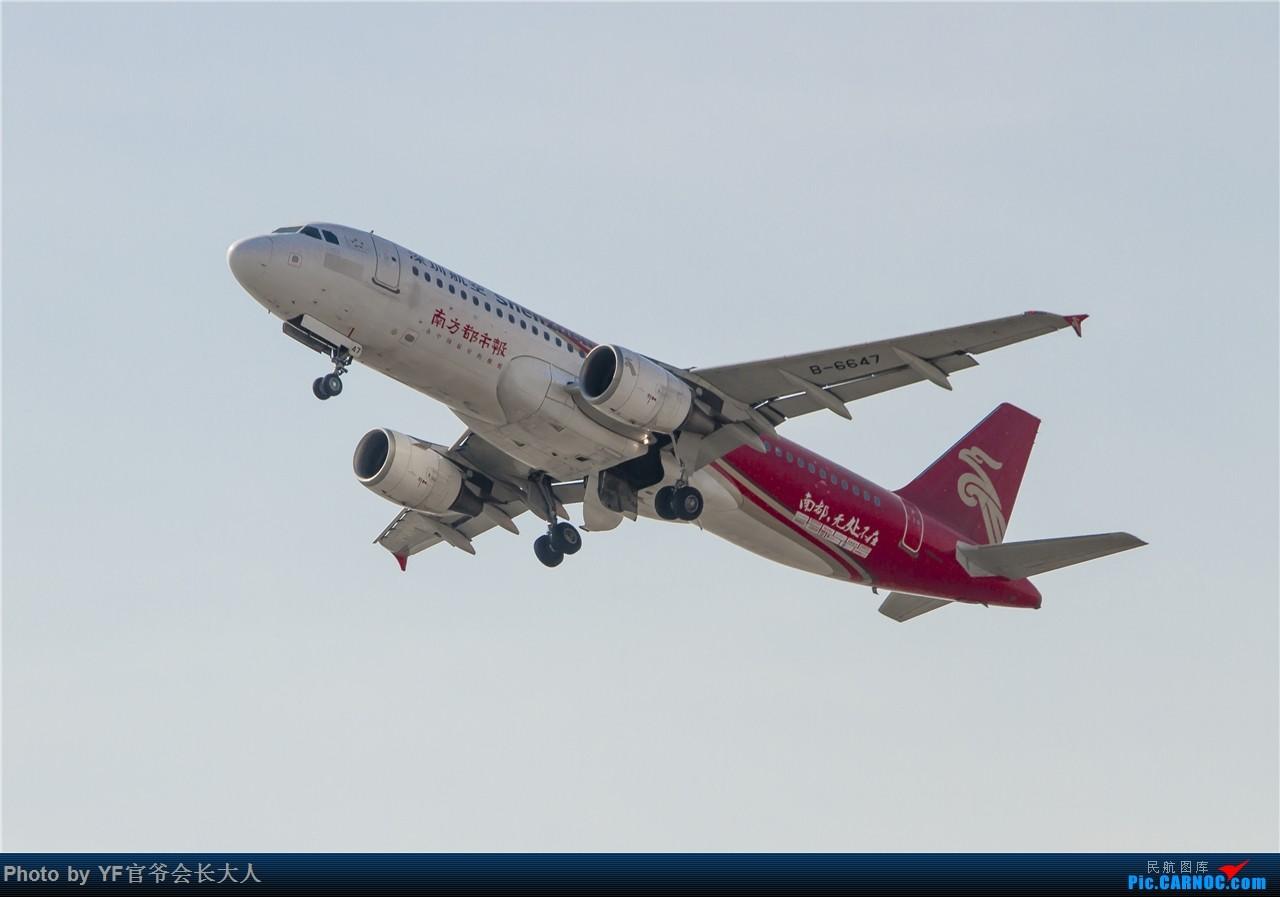 Re:[原创]时隔近半年再来桃仙,收下不少好货 AIRBUS A320-200 B-6647 中国沈阳桃仙国际机场