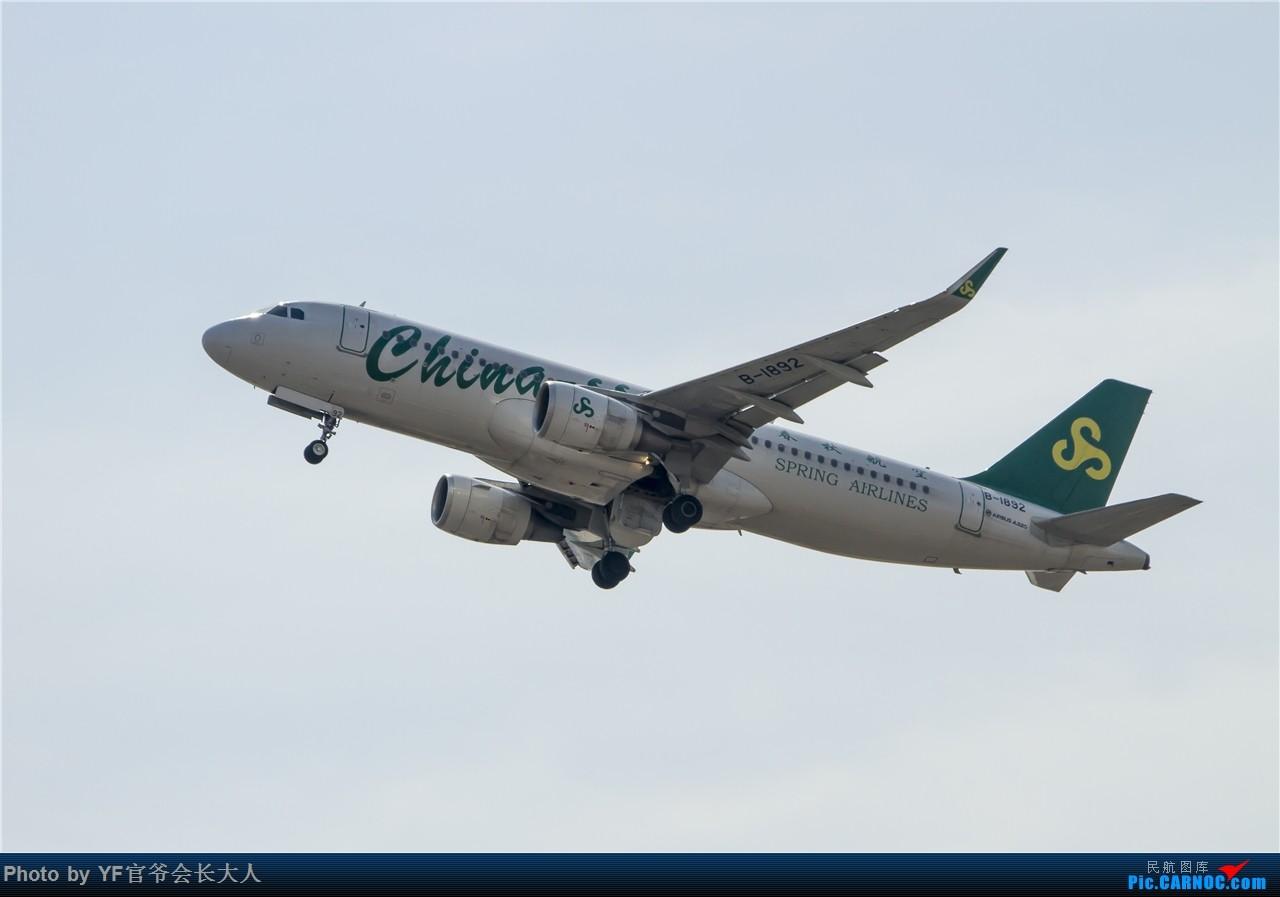 Re:[原创]时隔近半年再来桃仙,收下不少好货 AIRBUS A320-200 B-1892 中国沈阳桃仙国际机场