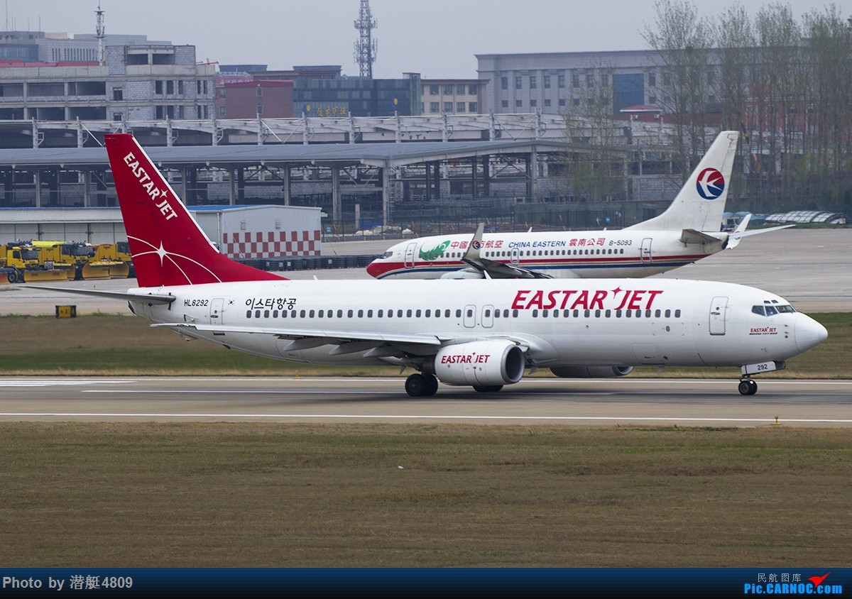 Re:[原创]韩国易思达航空开通郑州至清州包机航线 BOEING 737-800 HL8292 中国郑州新郑国际机场