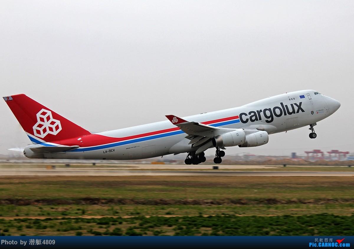 Re:[原创]新郑机场卢森堡货运航空波音747F起飞