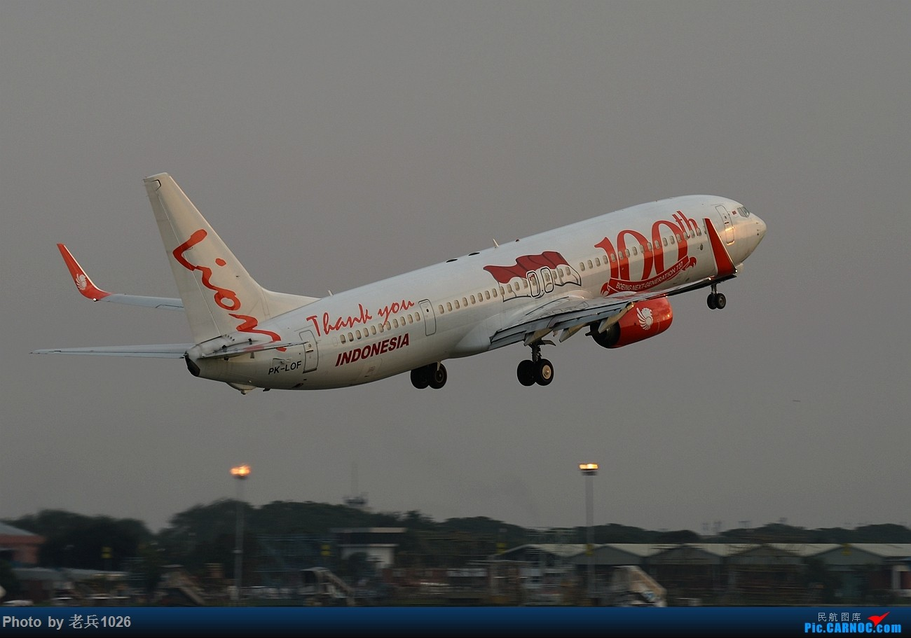 Re:[原创]印尼首都雅加达四日之旅 Lionair印尼狮子航空(上) BOEING 737-800 PK-LOF CGK