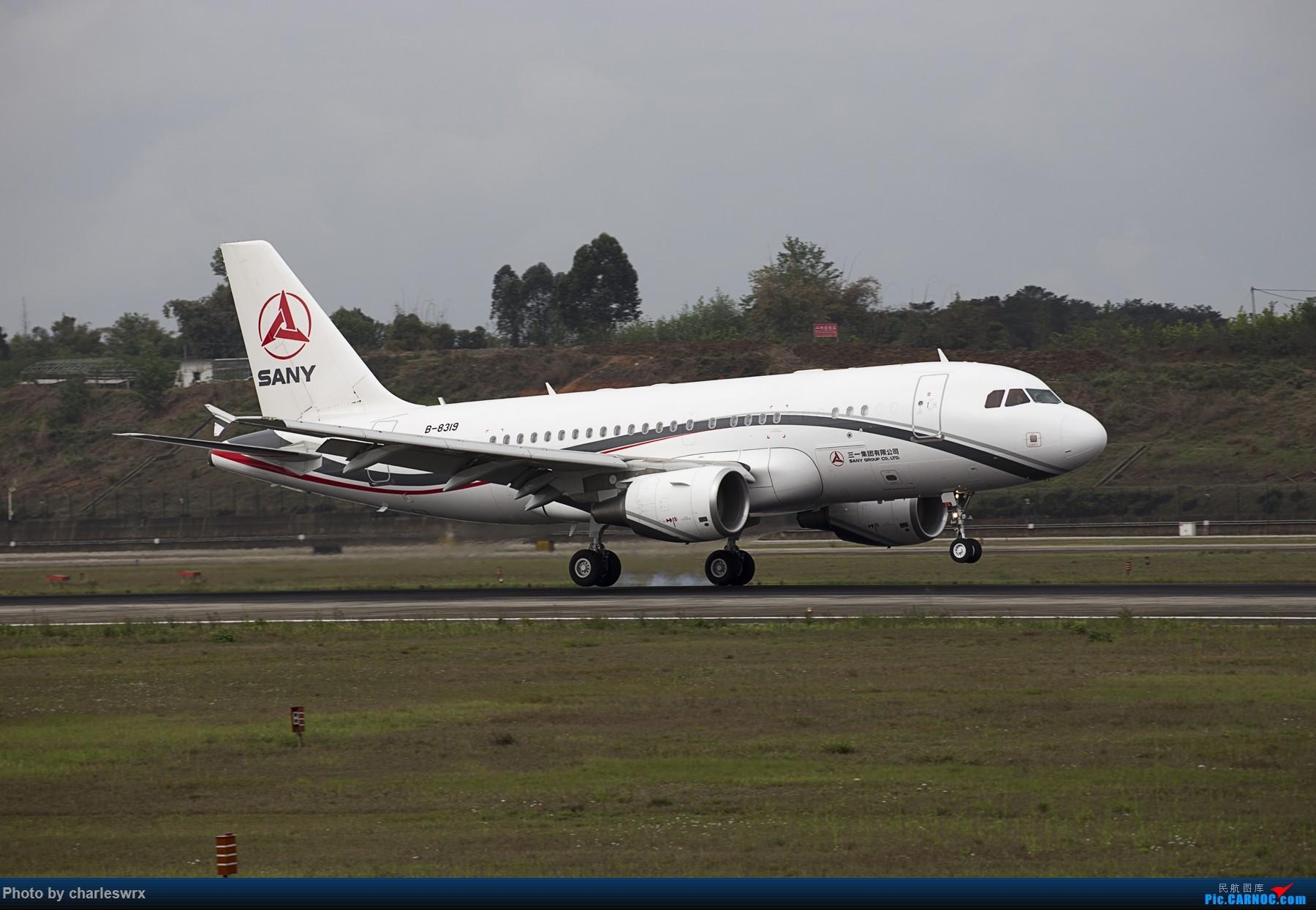 Re:[原创]4.5清明小假的CTU AIRBUS A319-115CJ B-8319 中国成都双流国际机场