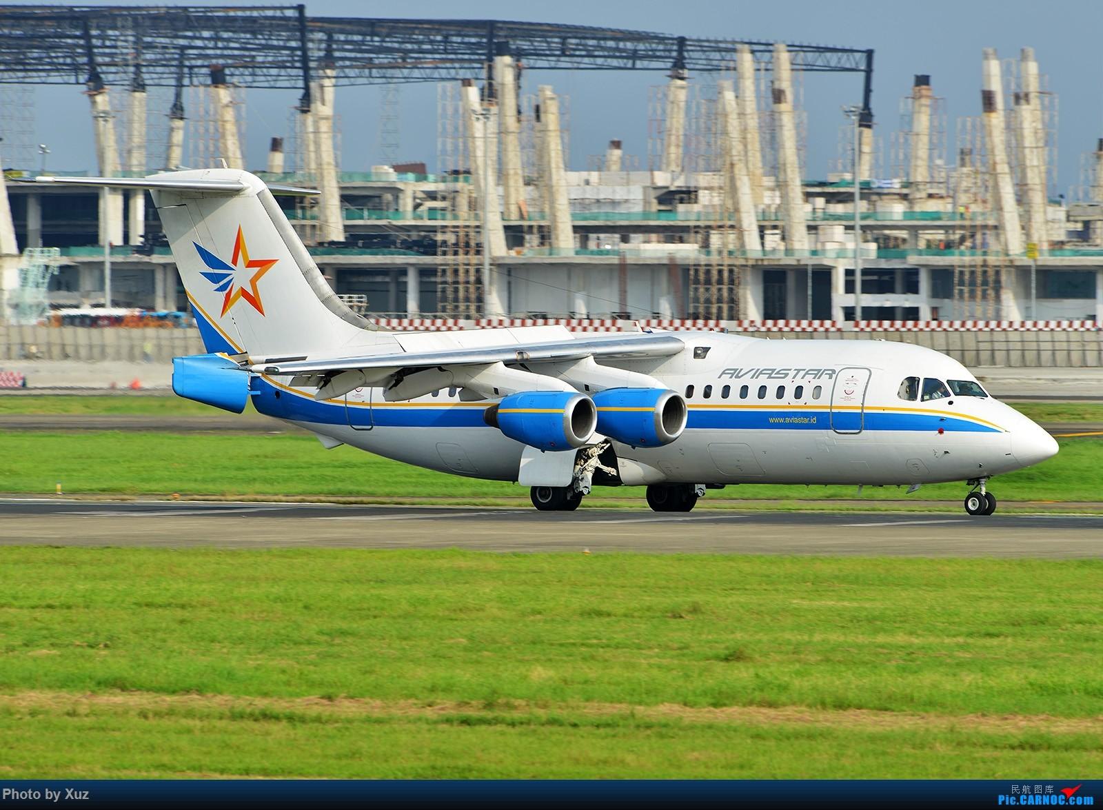 [原创]三月LIMA行逮到几架现在少有的机型 BRITISH AEROSPACE BAE-146-200 PK-BRF 印度尼西亚雅加达 苏加诺-哈达机场