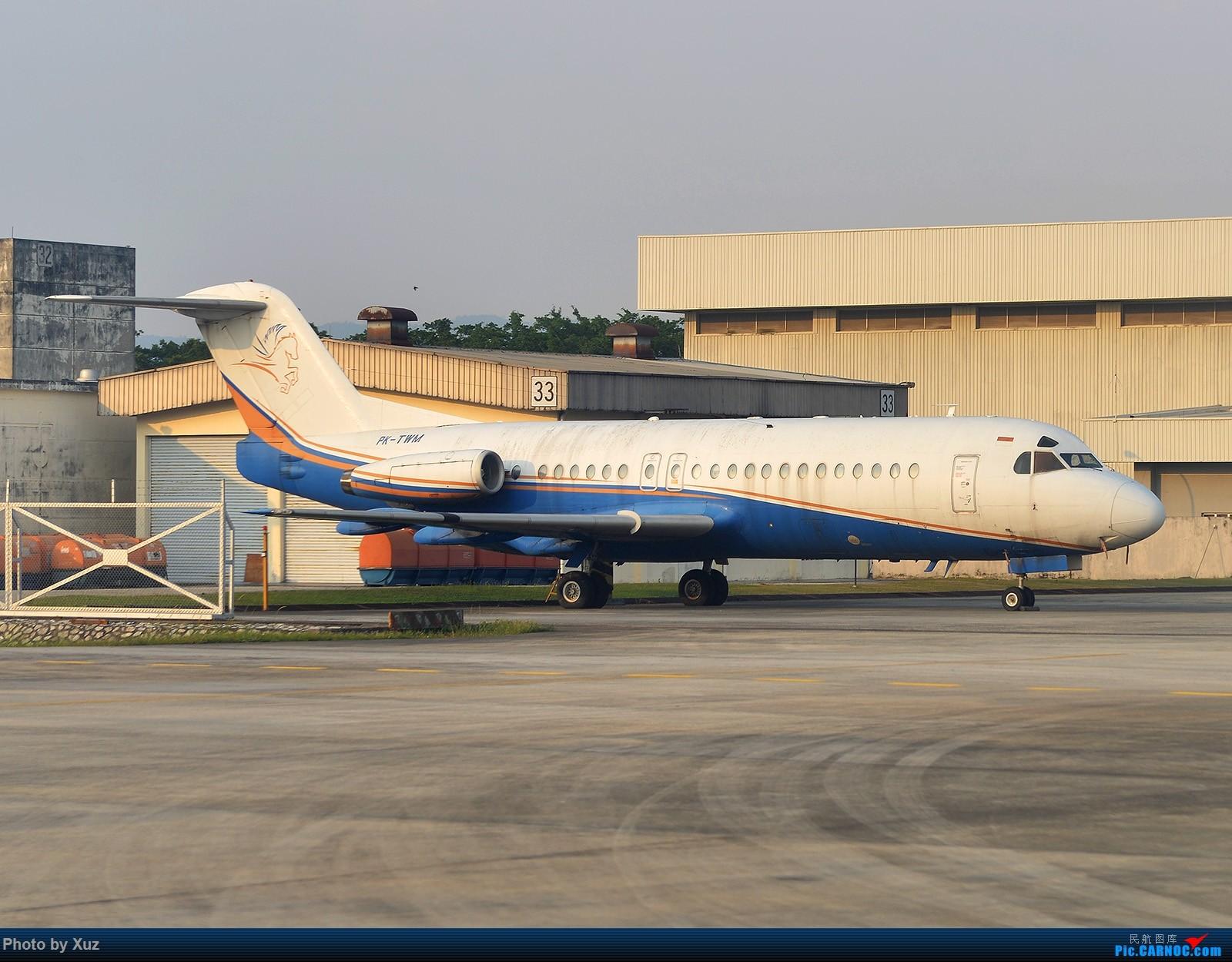 Re:[原创]三月LIMA行逮到几架现在少有的机型 FOKKER F-28 PK-GWM 马来西亚吉隆坡苏丹阿卜杜尔机场