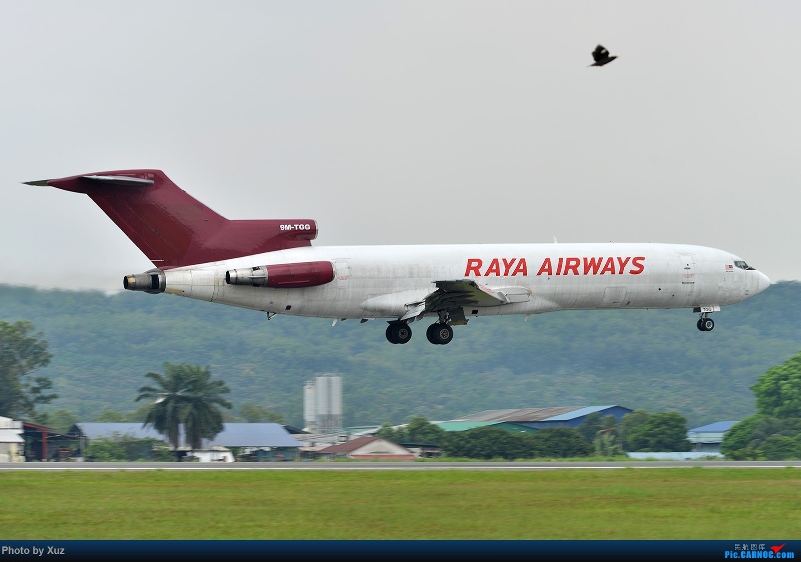 Re:[原创]三月LIMA行逮到几架现在少有的机型 BOEING 727-200 9M-TGG 马来西亚吉隆坡苏丹阿卜杜尔机场