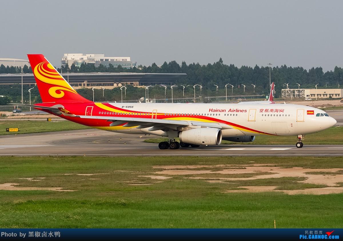 [原创]清明假期广州西跑鬼屋作业,发一贴 AIRBUS A330-200 B-5955 中国广州白云国际机场