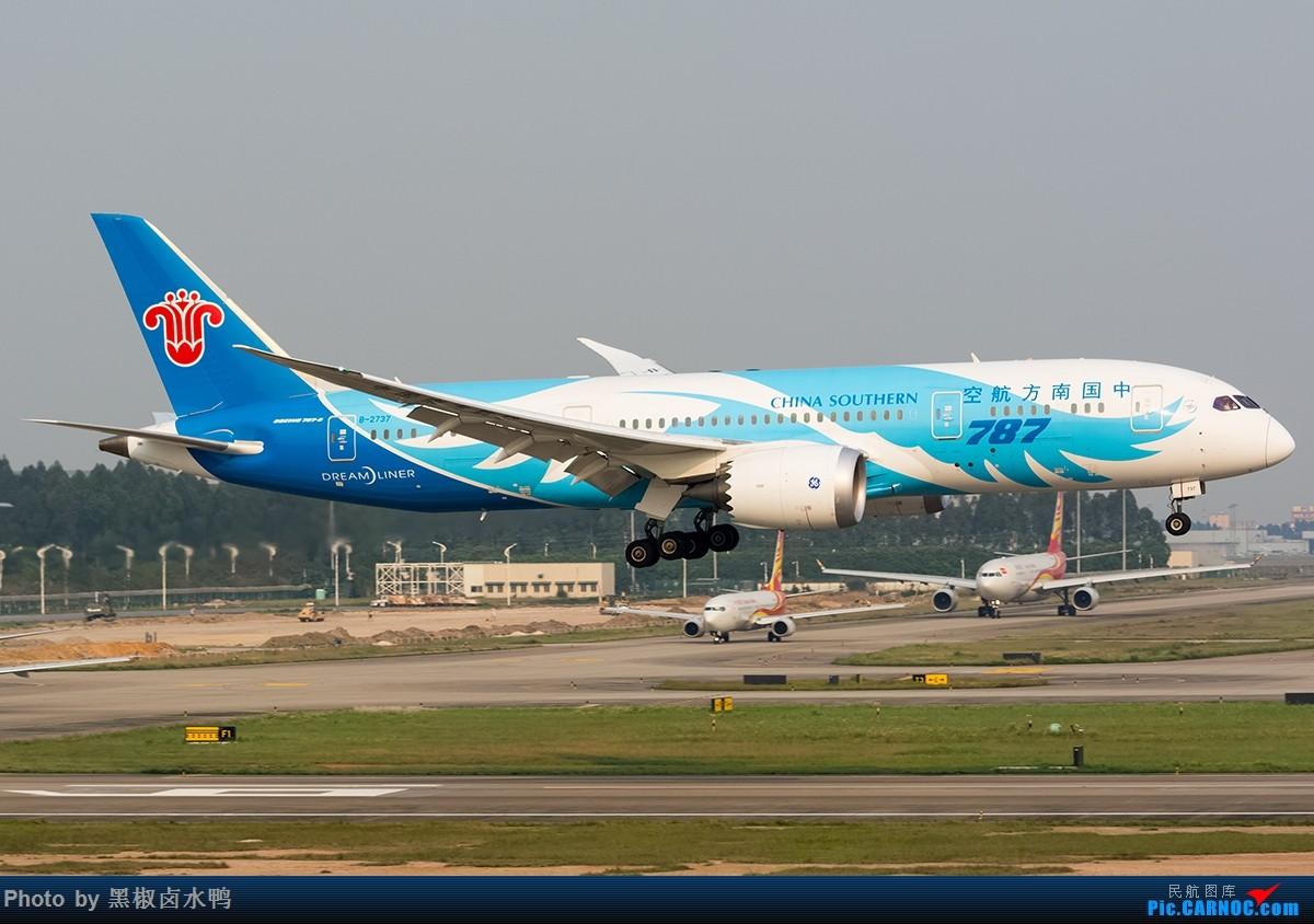 Re:[原创]清明假期广州西跑鬼屋作业,发一贴 BOEING 787-8 B-2737 中国广州白云国际机场