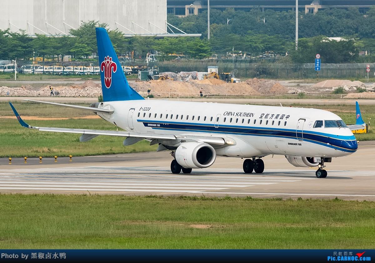 Re:[原创]清明假期广州西跑鬼屋作业,发一贴 EMBRAER E-190 B-3209 中国广州白云国际机场