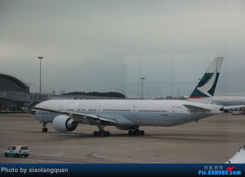Re:[原创]19日从南往北走的欧洲蜜月游(上集)HKG-SVO by俄航777w,SVO-FCOby俄航320(更新中,图多请小心)小飞机送一返一 BOEING 777-300ER B-KQE 中国香港赤鱲角国际机场