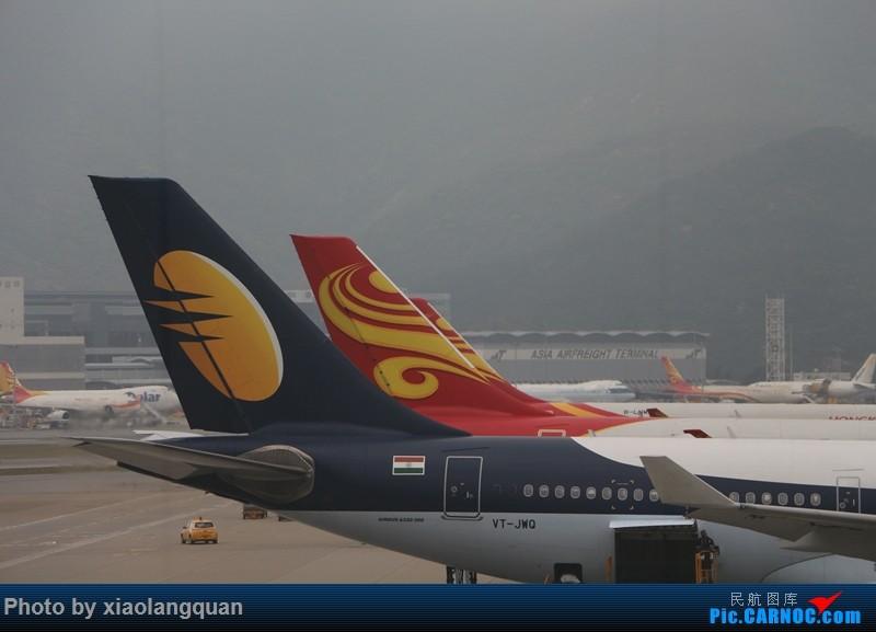 Re:[原创]19日从南往北走的欧洲蜜月游(上集)HKG-SVO by俄航777w,SVO-FCOby俄航320(更新中,图多请小心)小飞机送一返一 AIRBUS A330-200 VT-JWQ 中国香港赤鱲角国际机场