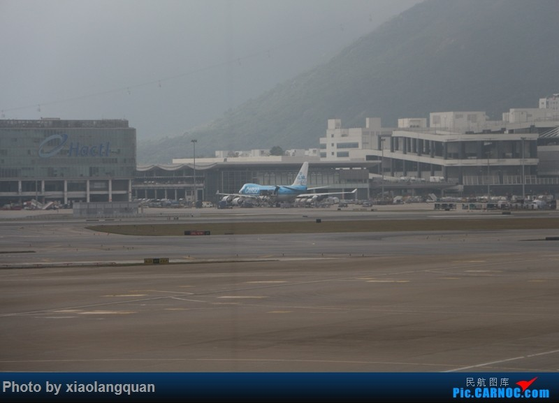 Re:[原创]19日从南往北走的欧洲蜜月游(上集)HKG-SVO by俄航777w,SVO-FCOby俄航320(更新中,图多请小心)小飞机送一返一 BOEING 747-400F  中国香港赤鱲角国际机场