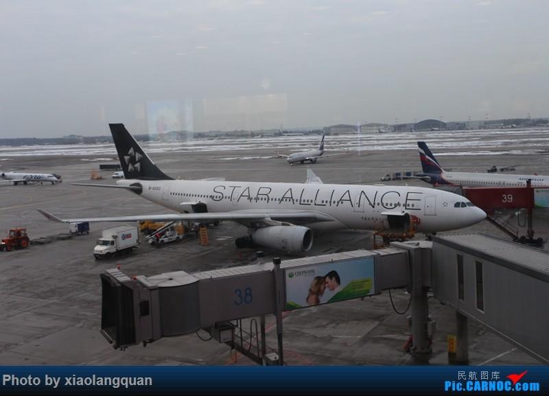 Re:[原创]19日从南往北走的欧洲蜜月游(上集)HKG-SVO by俄航777w,SVO-FCOby俄航320(更新中,图多请小心)小飞机送一返一 AIRBUS A330-200 B-6093 俄罗斯谢诺梅杰沃机场