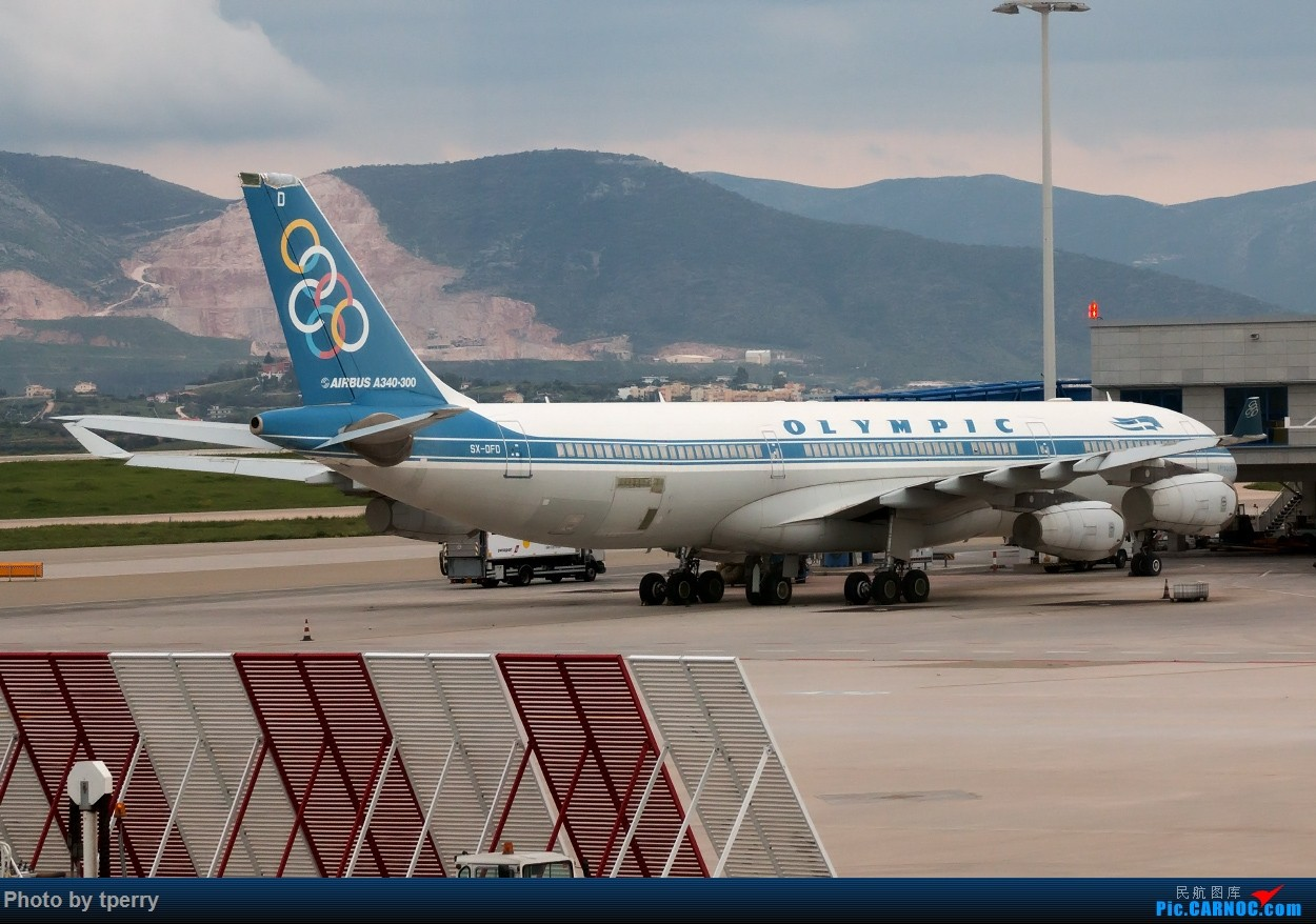 Re:两张稀罕的封存在雅典机场的奥林匹克航空340-300