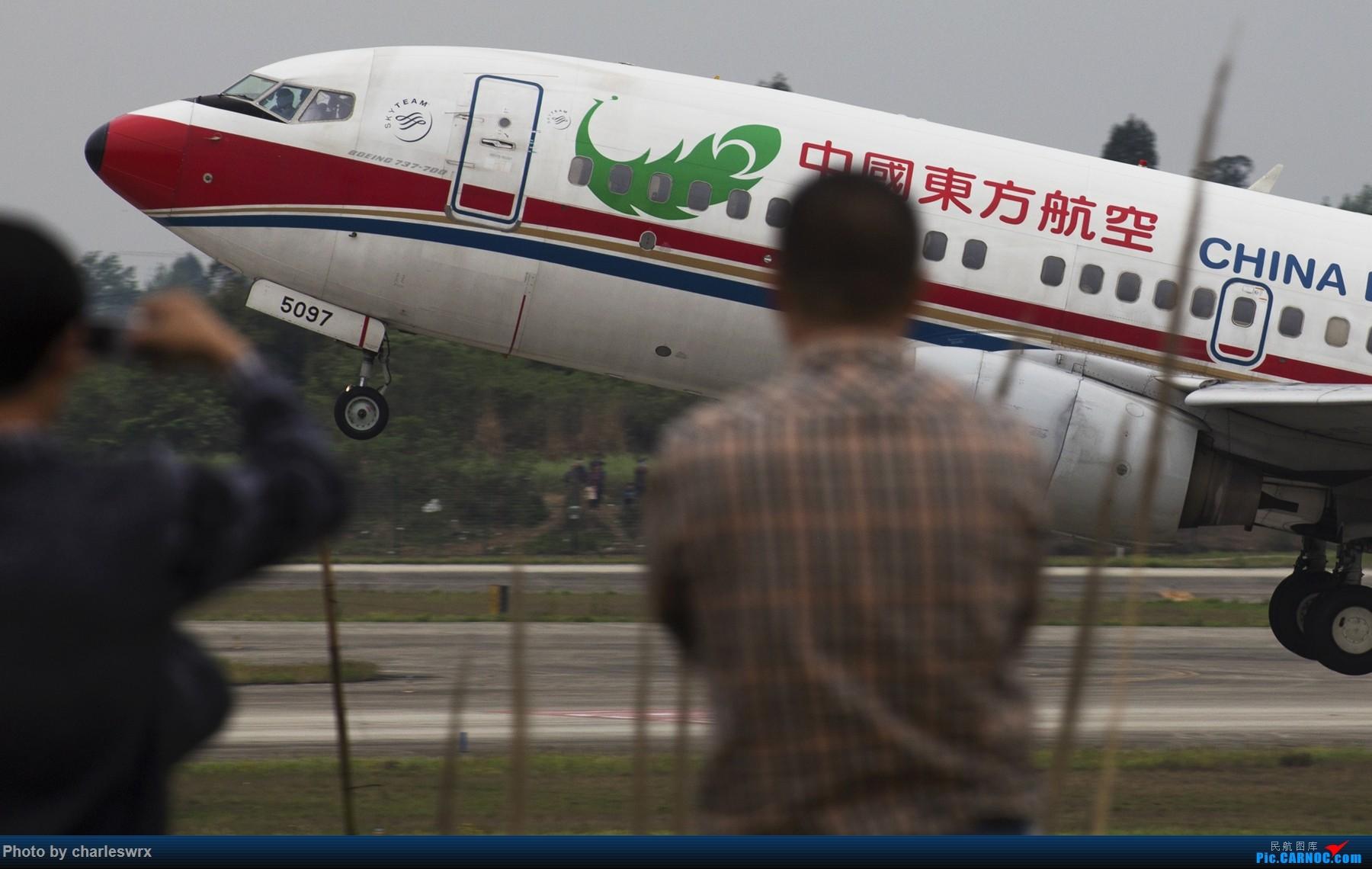 Re:[原创]4.5清明小假的CTU【4.10更新】 BOEING 737-700 B-5097 中国成都双流国际机场