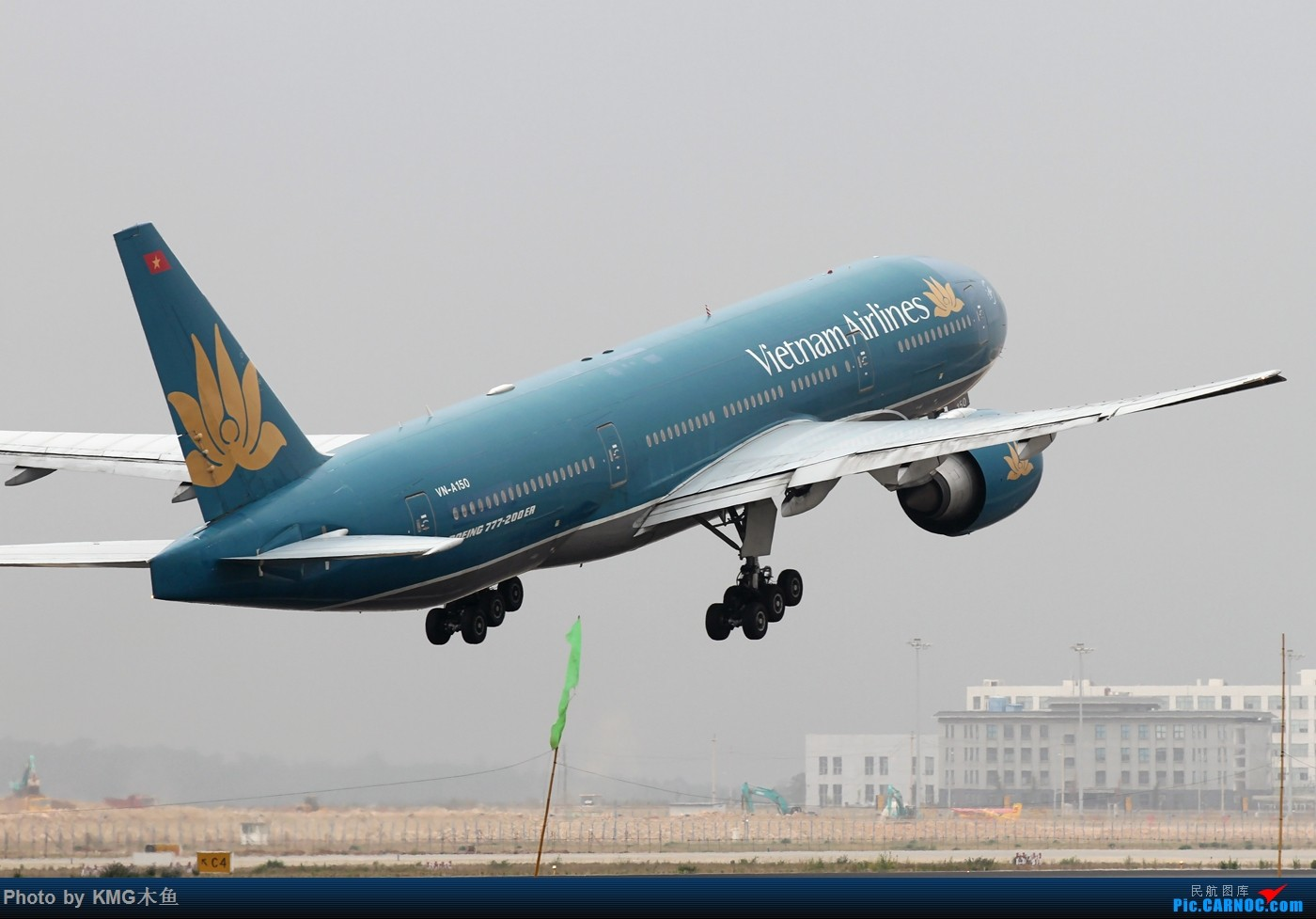 Re:[原创]【KMG】【昆明长水国际机场】烂天有好货在昆明同样适用 BOEING 777-200 VN-A150 中国昆明长水国际机场机场