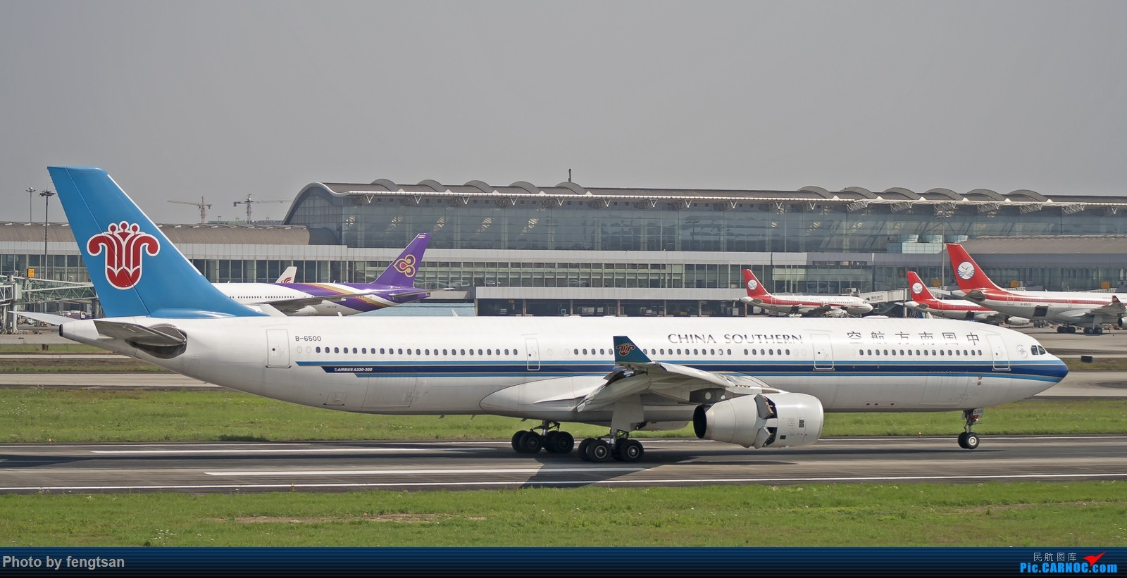 Re:[原创][CCFA]春日CTU AIRBUS A330-300 B-6500 中国成都双流国际机场
