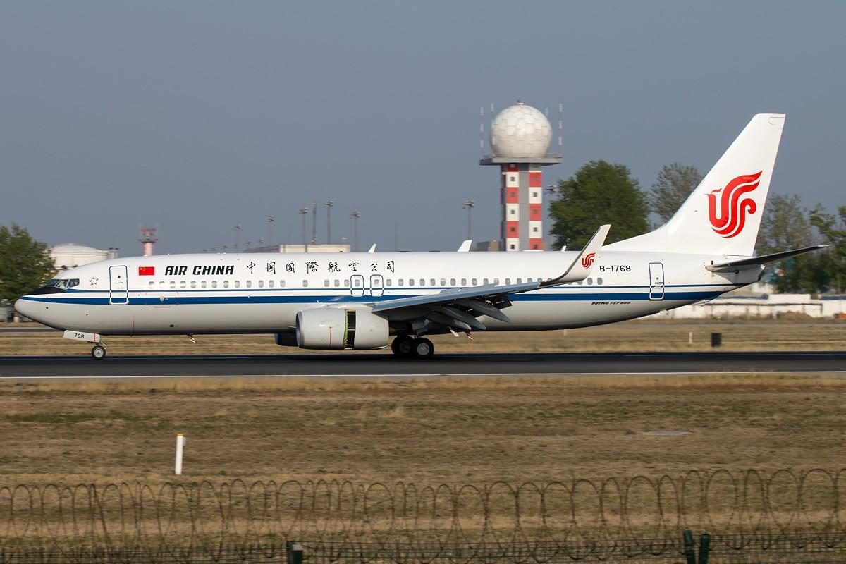 Re:[原创]无题 BOEING 737-800 B-1768 中国北京首都国际机场
