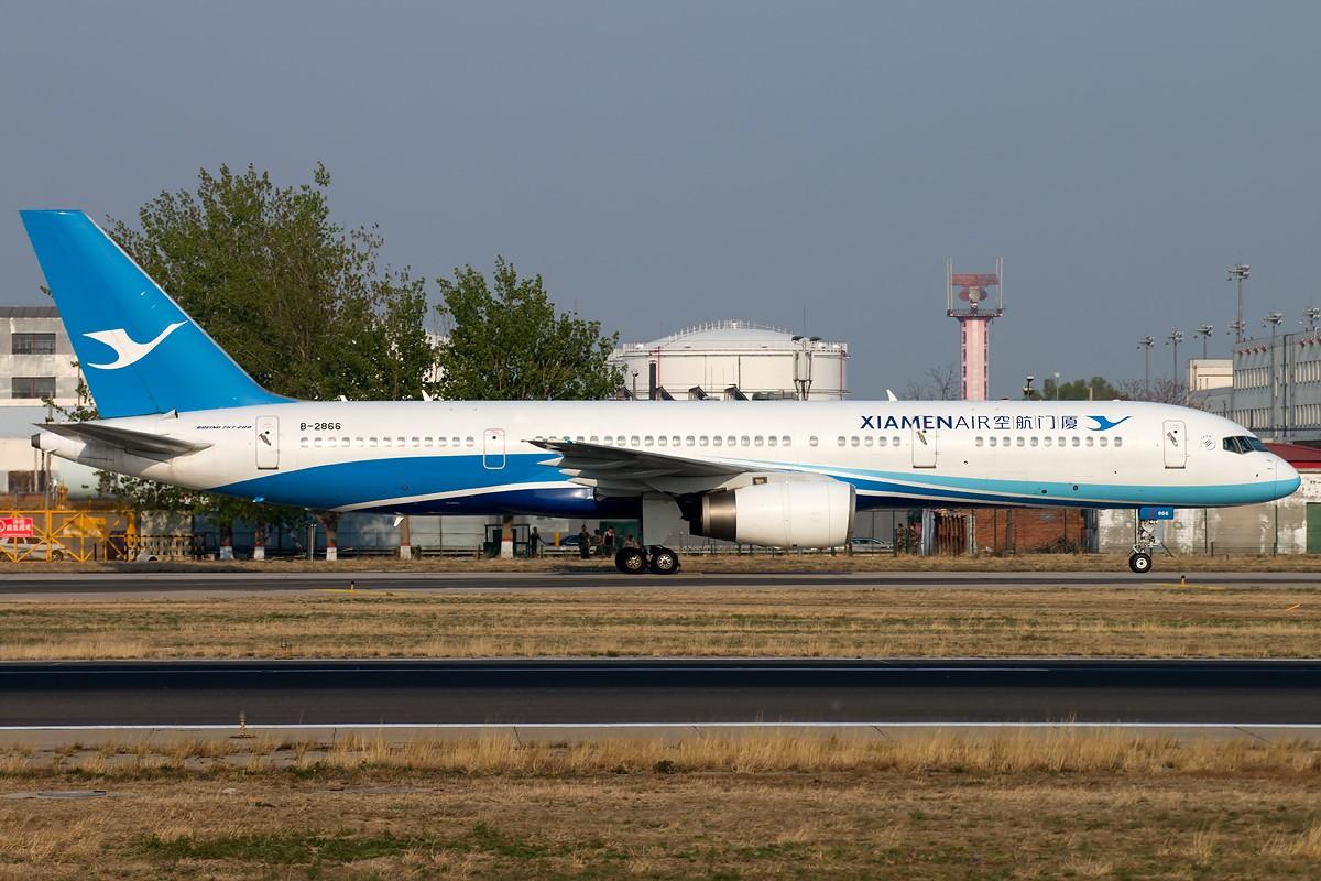 Re:[原创]无题 BOEING 757-200 B-2866 中国北京首都国际机场
