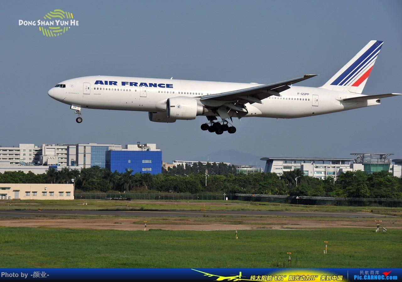 Re:[原创]ZGGG(广州CAN)的波音777系列-继续更新 BOEING 777-200 F-GSPP 中国广州白云国际机场