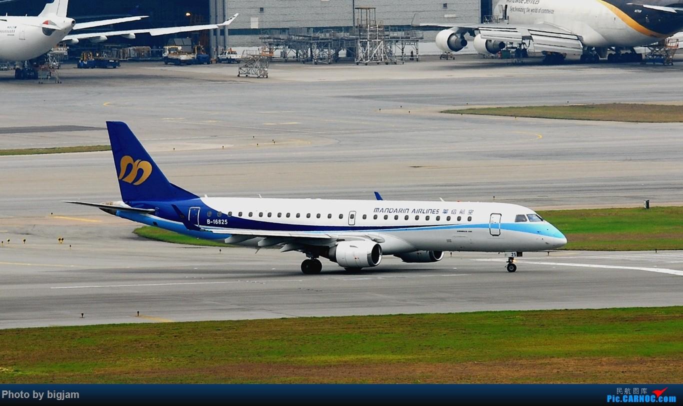 Re:[原创]香港三日闲游,外加沙螺湾和HKG T2观景台拍机游记,众多PEK看不到的货。(持续更新中) EMBRAER ERJ-190 B-16825 中国香港赤鱲角国际机场