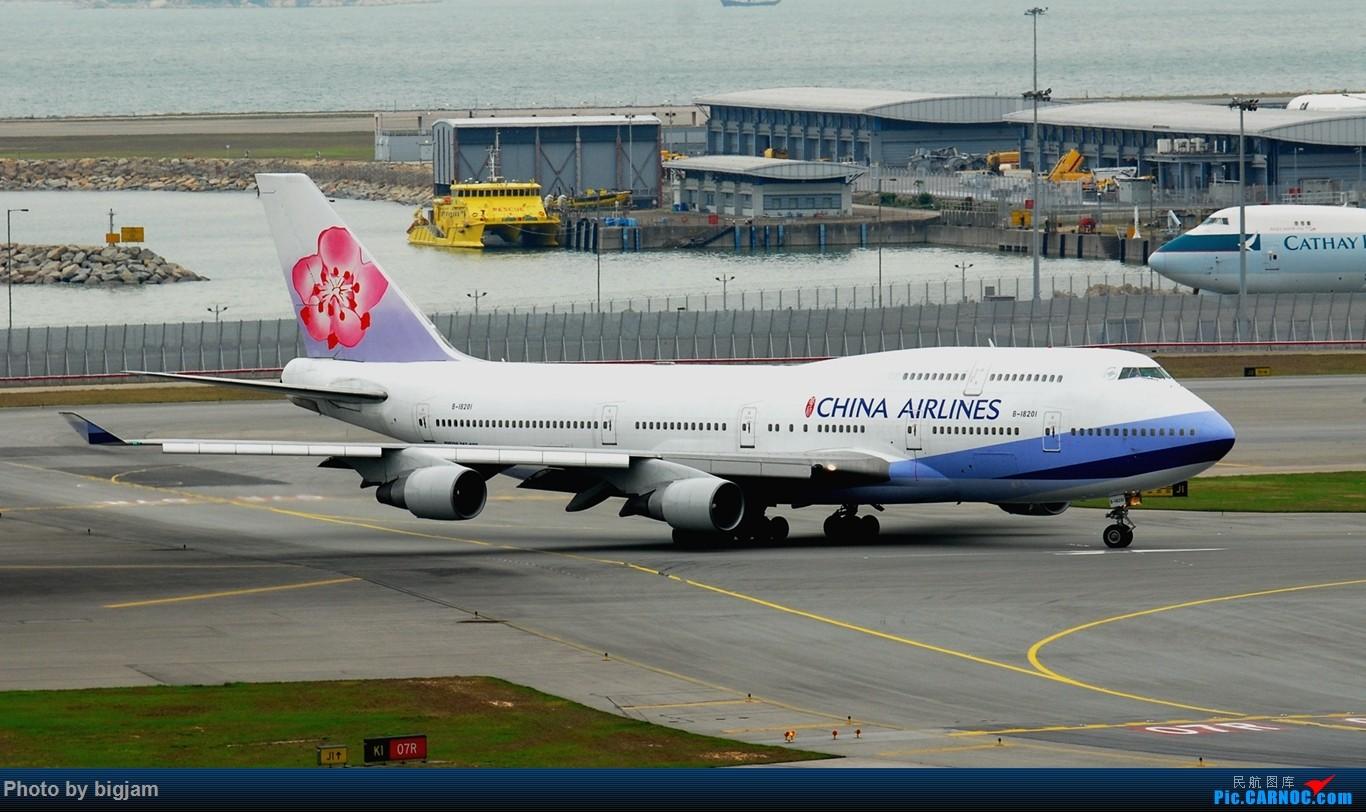 Re:[原创]香港三日闲游,外加沙螺湾和香港机场T2观景台拍机游记,众多PEK看不到的货。(持续更新中) BOEING 747-400 B-18201 中国香港赤鱲角国际机场