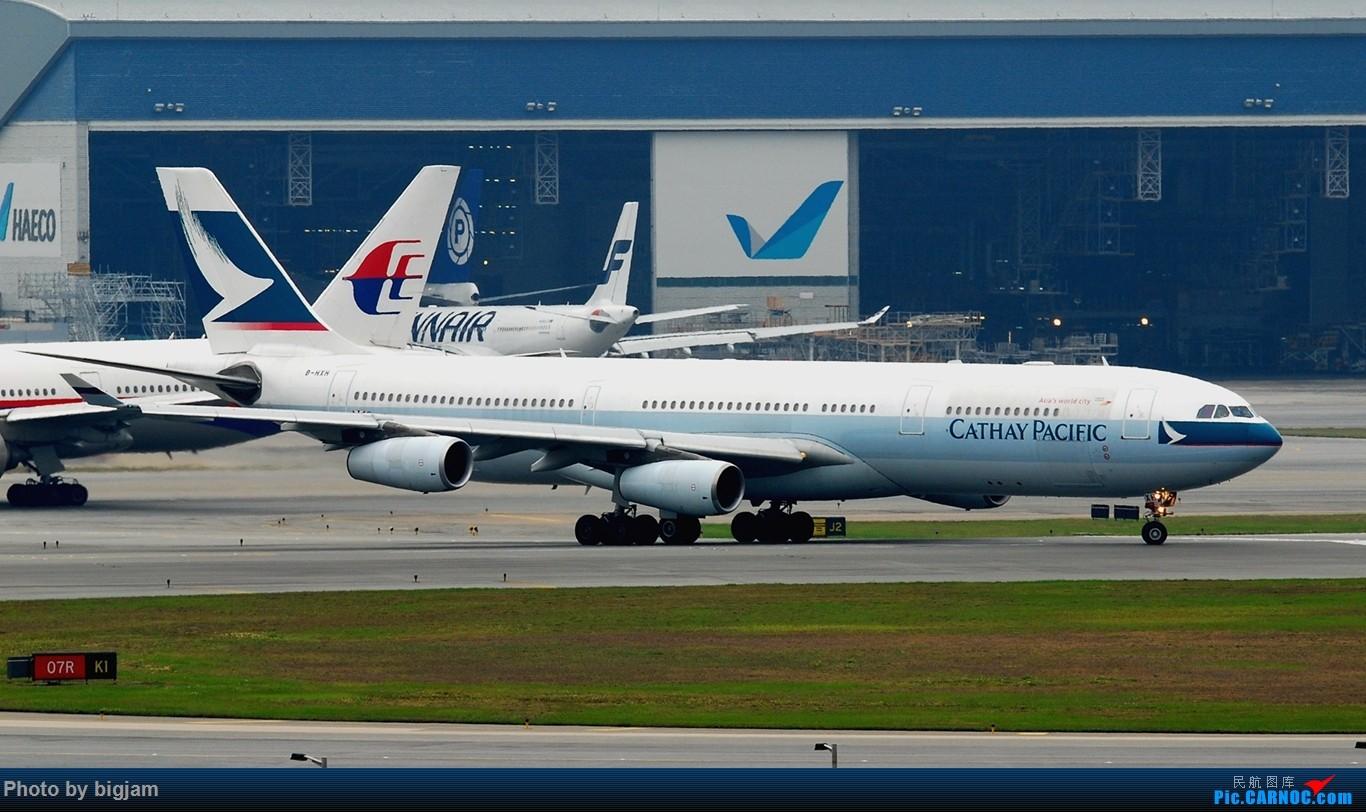 Re:[原创]香港三日闲游,外加沙螺湾和香港机场T2观景台拍机游记,众多PEK看不到的货。(持续更新中) AIRBUS A340-300 B-HXH 中国香港赤鱲角国际机场