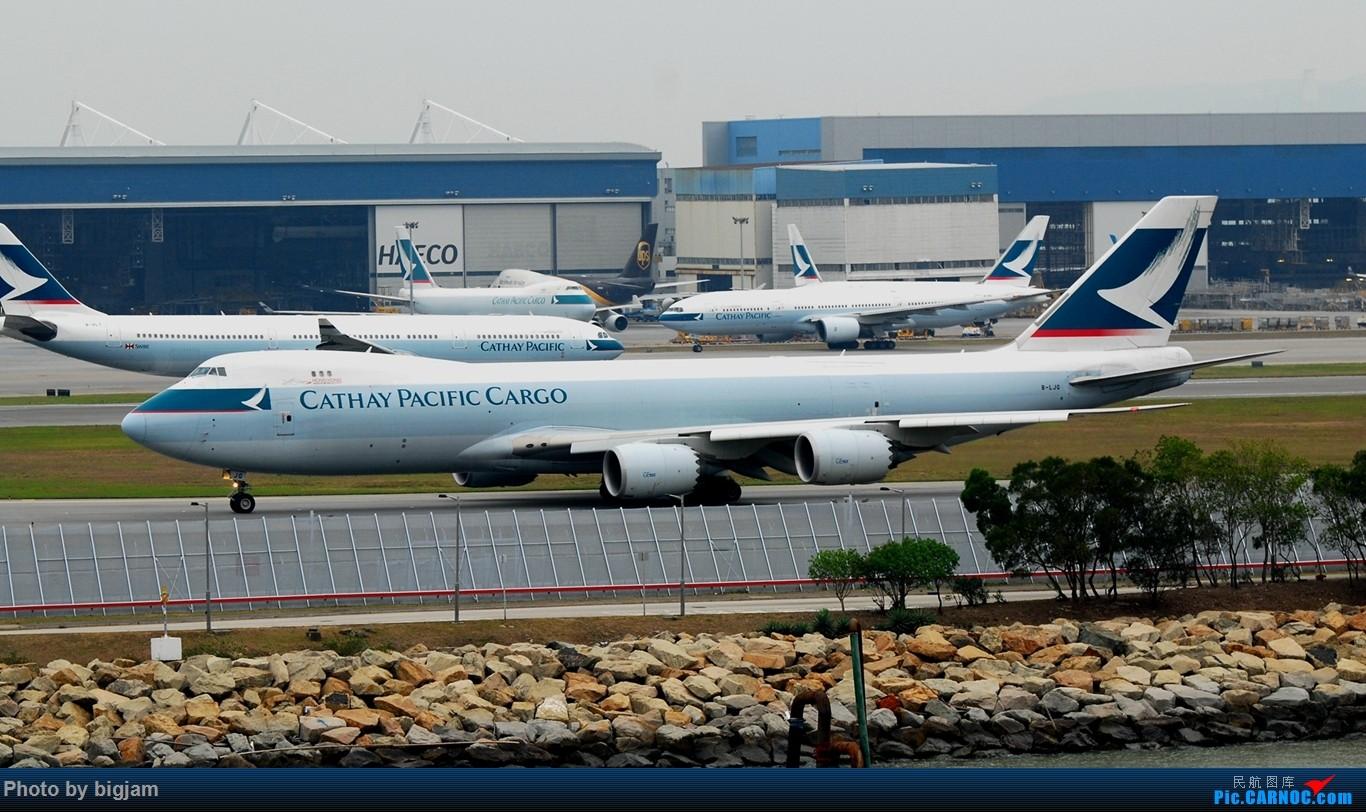 Re:[原创]香港三日闲游,外加沙螺湾和香港机场T2观景台拍机游记,众多PEK看不到的货。(持续更新中) BOEING 747-8I B-LJG 中国香港赤鱲角国际机场
