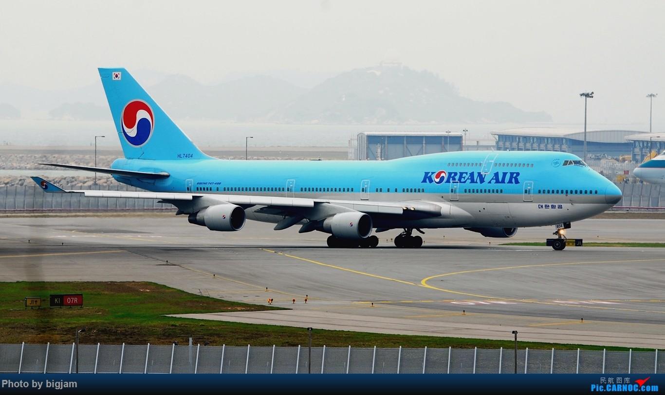 Re:[原创]香港三日闲游,外加沙螺湾和香港机场T2观景台拍机游记,众多PEK看不到的货。(持续更新中) BOEING 747-4B5 HL7404 中国香港赤鱲角国际机场