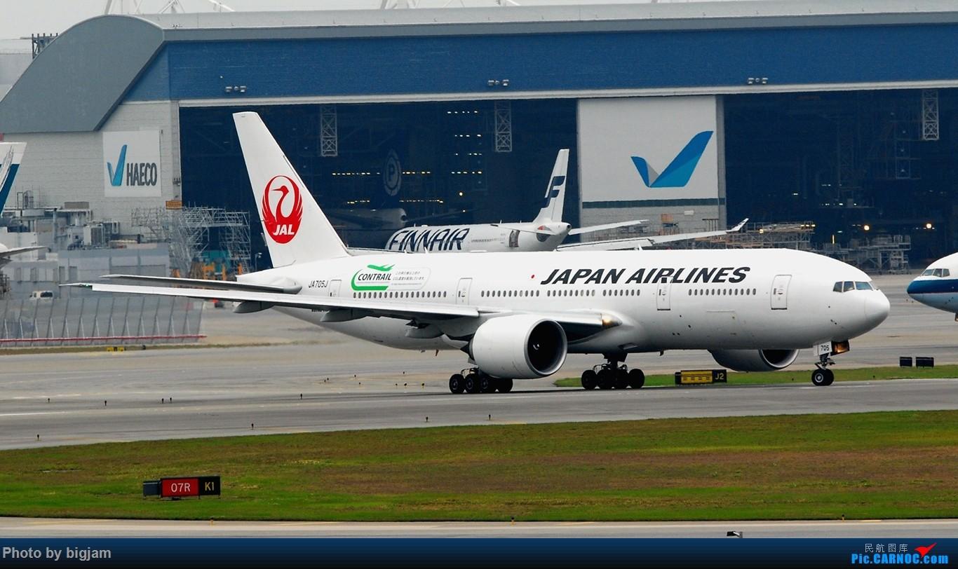 Re:[原创]香港三日闲游,外加沙螺湾和香港机场T2观景台拍机游记,众多PEK看不到的货。(持续更新中) BOEING 777-246(ER) JA705J 中国香港赤鱲角国际机场
