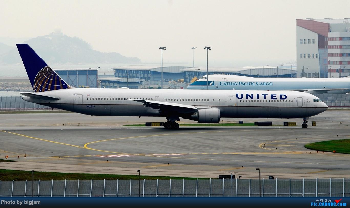 Re:[原创]香港三日闲游,外加沙螺湾和香港机场T2观景台拍机游记,众多PEK看不到的货。(持续更新中) BOEING 767-424(ER) N69063 中国香港赤鱲角国际机场
