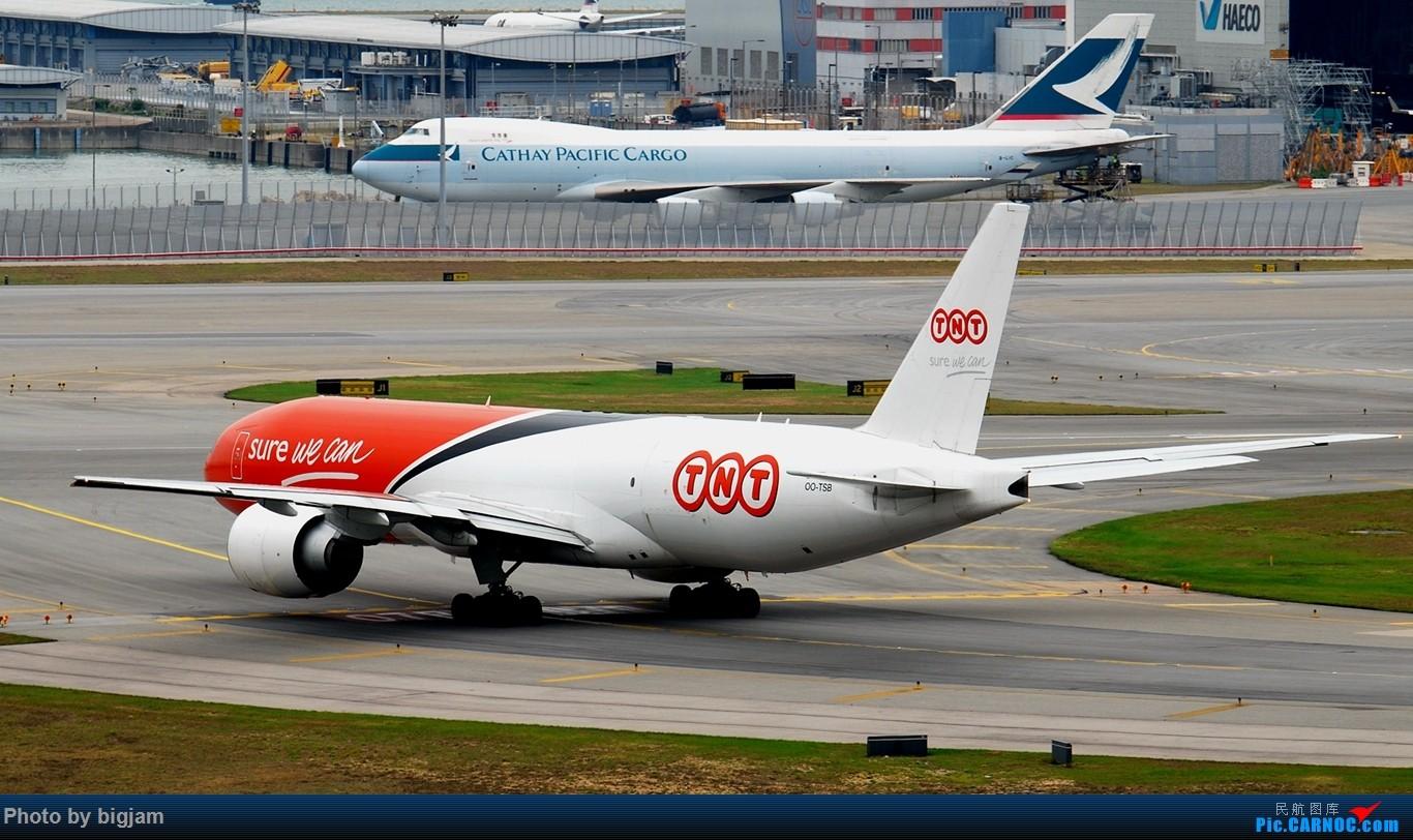 Re:[原创]香港三日闲游,外加沙螺湾和香港机场T2观景台拍机游记,众多PEK看不到的货。(持续更新中) BOEING 777-FHT OO-TSB 中国香港赤鱲角国际机场