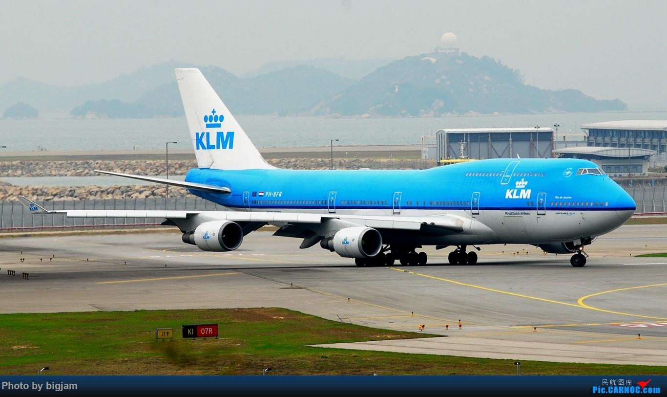Re:[原创]香港三日闲游,外加沙螺湾和香港机场T2观景台拍机游记,众多PEK看不到的货。(持续更新中) BOEING 747-406(M) PH-BFR 中国香港赤鱲角国际机场