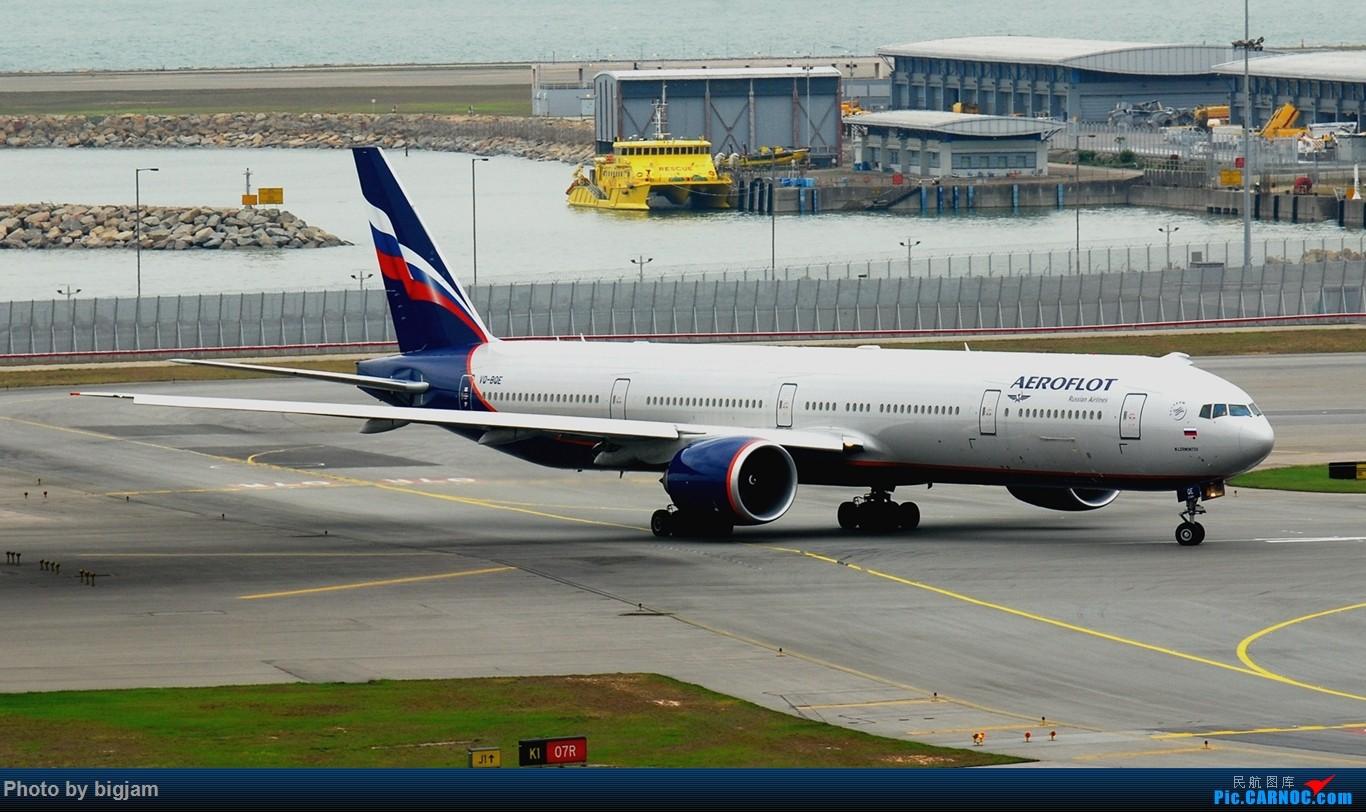 Re:[原创]香港三日闲游,外加沙螺湾和香港机场T2观景台拍机游记,众多PEK看不到的货。(持续更新中) BOEING 777-3M0(ER) VQ-BQE 中国香港赤鱲角国际机场