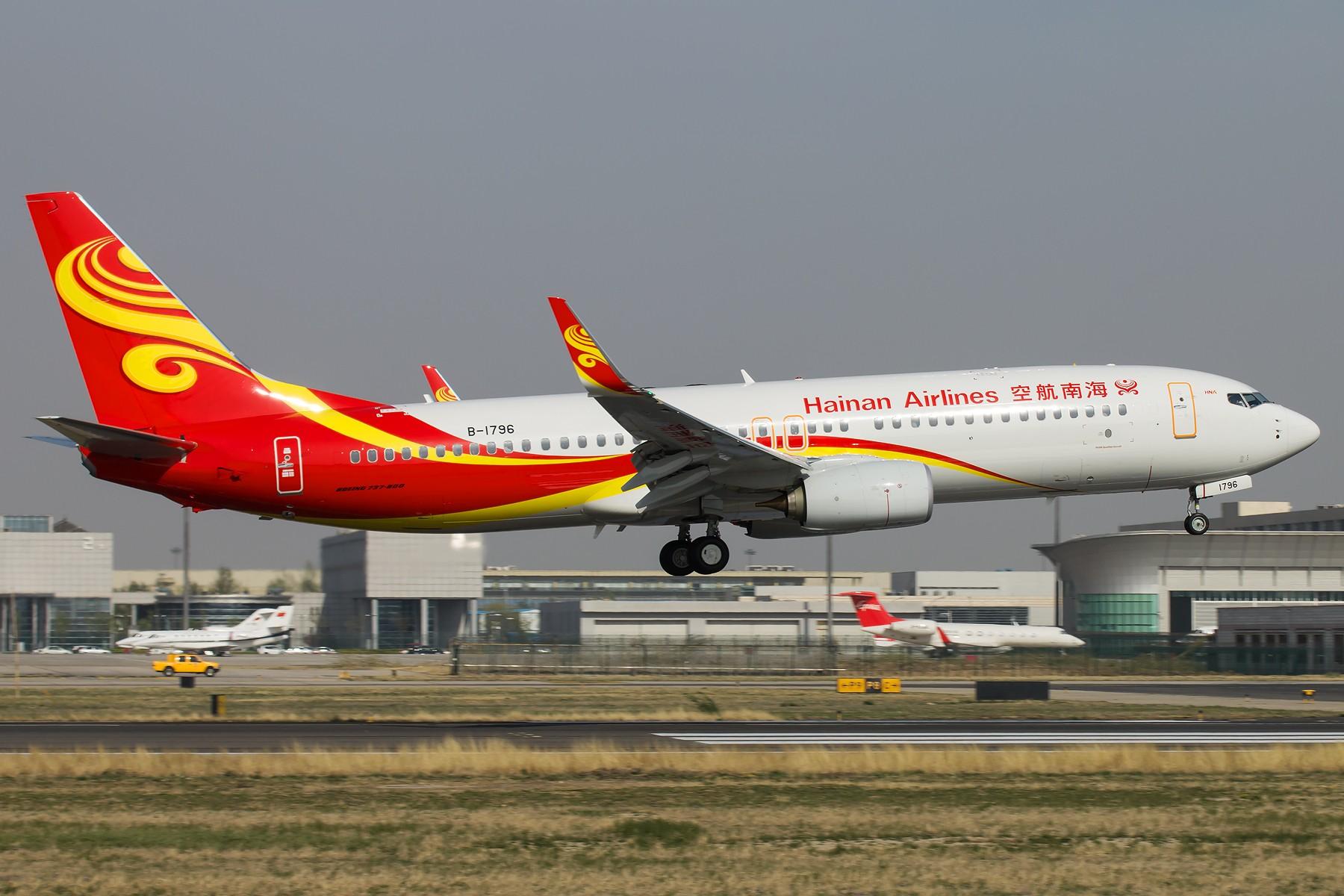 Re:[原创]杂图一组 [10pics] BOEING 737-800 B-1796 中国北京首都国际机场