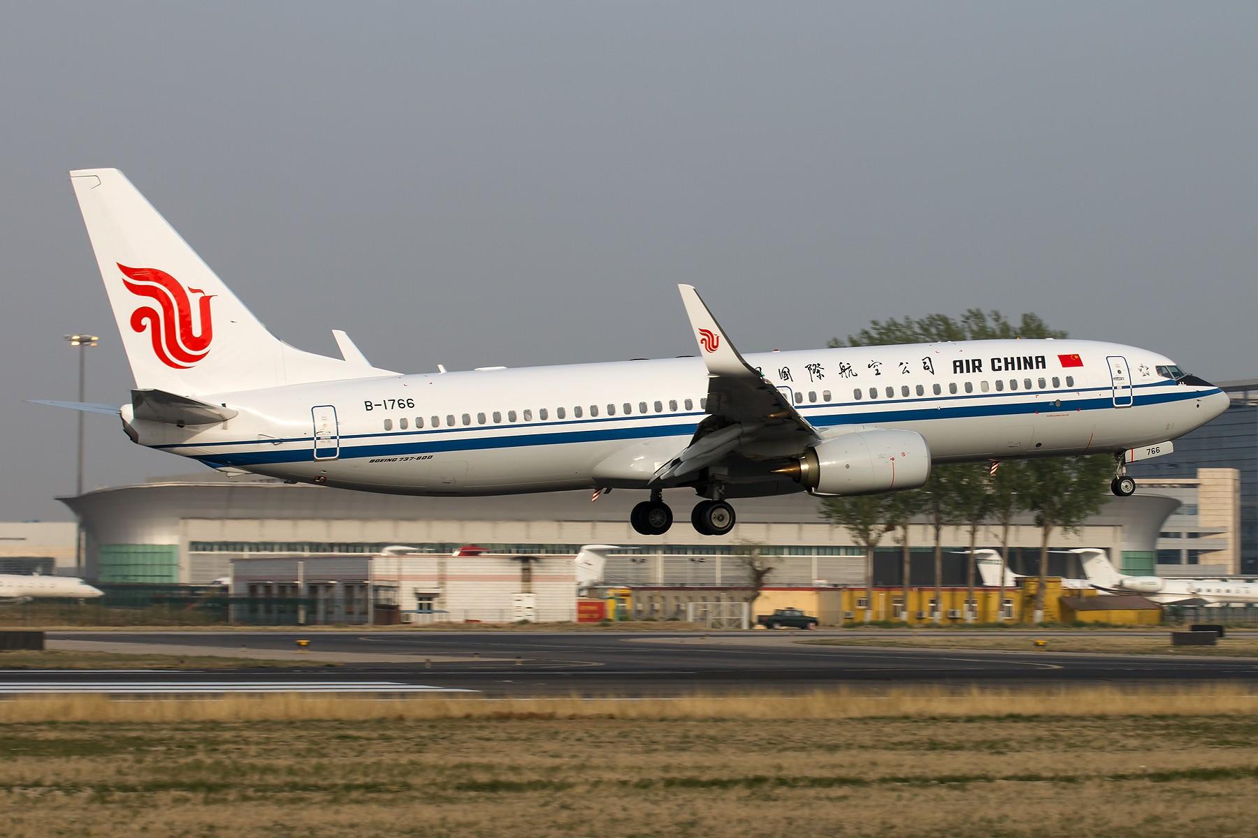 Re:[原创]杂图一组 [10pics] BOEING 737-800 B-1766 中国北京首都国际机场