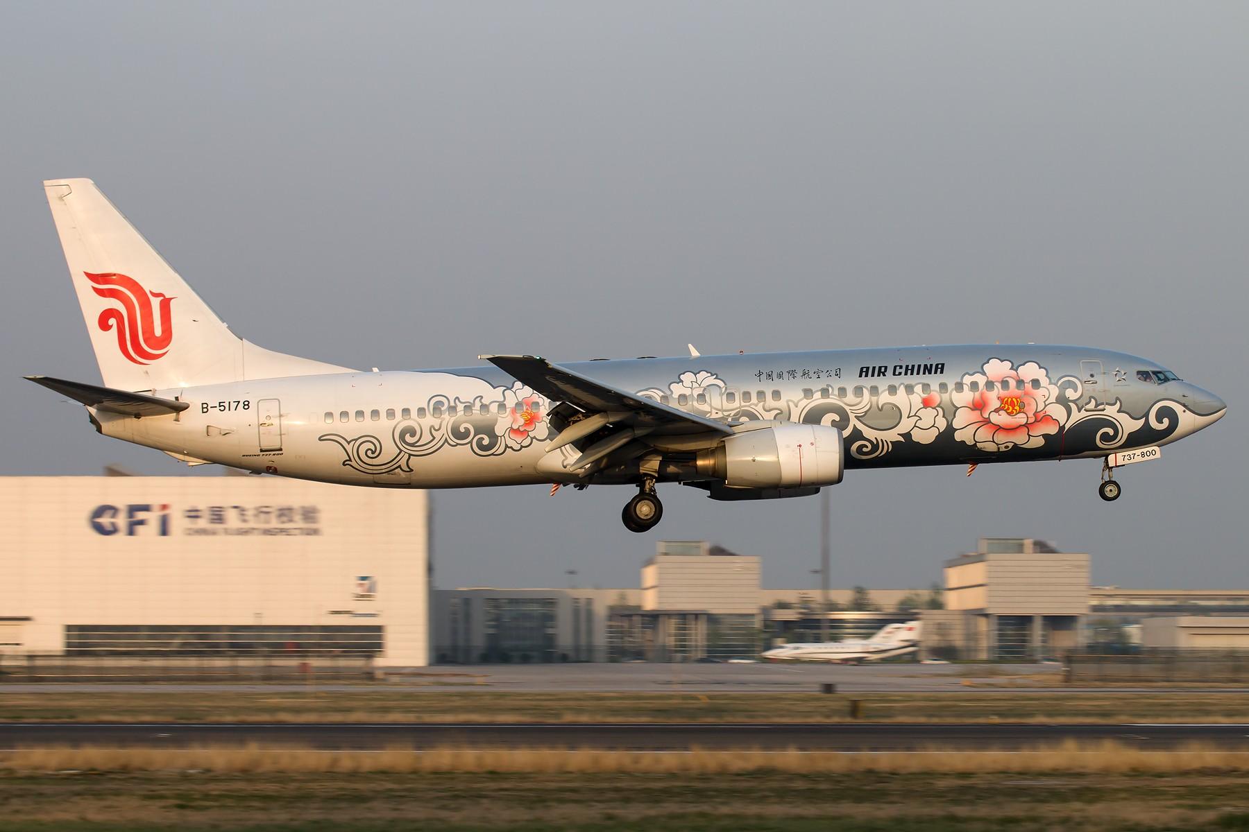 Re:[原创]杂图一组 [10pics] BOEING 737-800 B-5178 中国北京首都国际机场