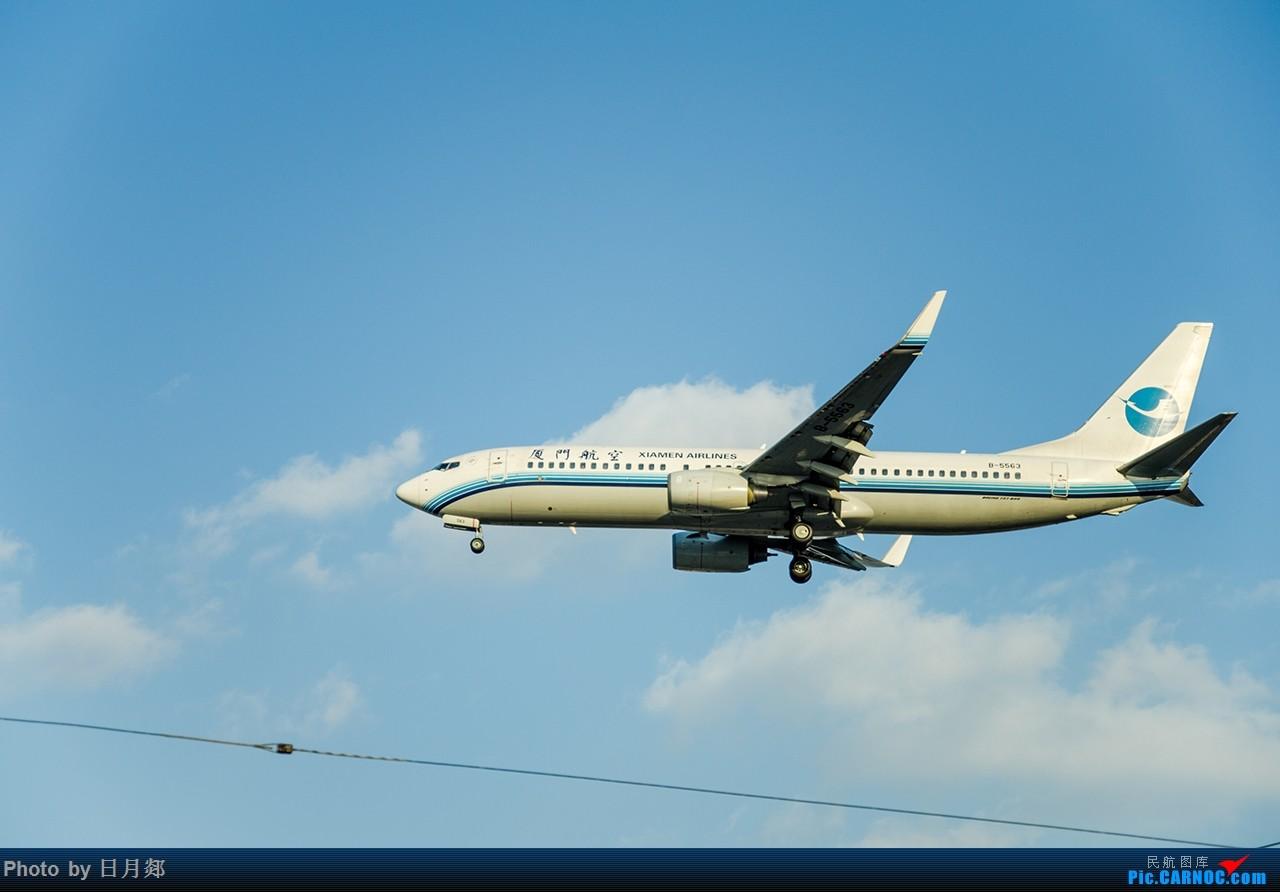 Re:[原创]首次发图,虹桥杂图,二月的某一个好天气 BOEING 737-800 B-5563 中国上海虹桥国际机场