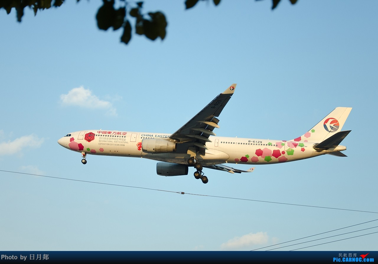 Re:[原创]首次发图,虹桥杂图,二月的某一个好天气 AIRBUS A330-300 B-6129 中国上海虹桥国际机场