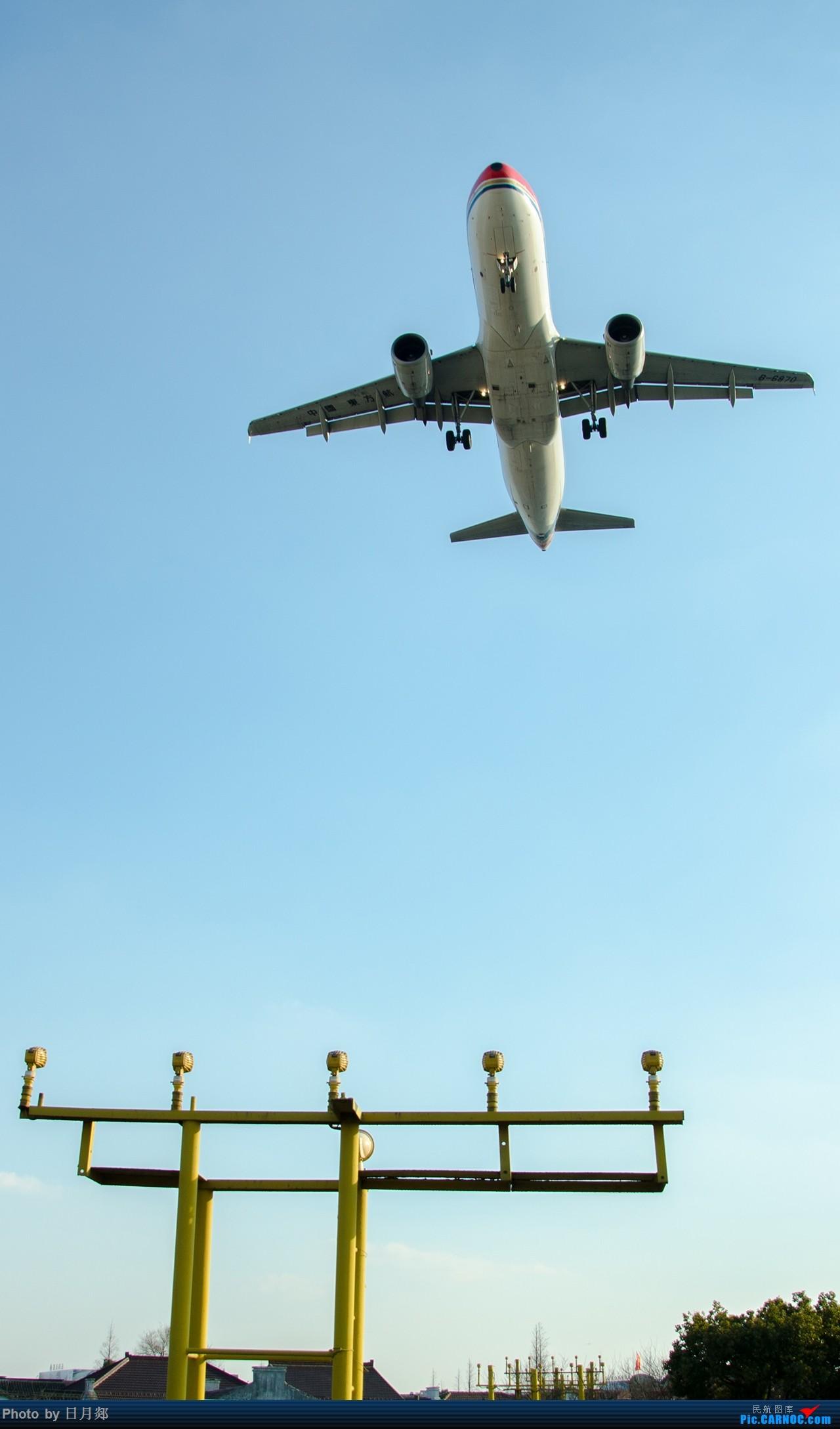 Re:[原创]首次发图,虹桥杂图,二月的某一个好天气 AIRBUS A320-200 B-6870 中国上海虹桥国际机场