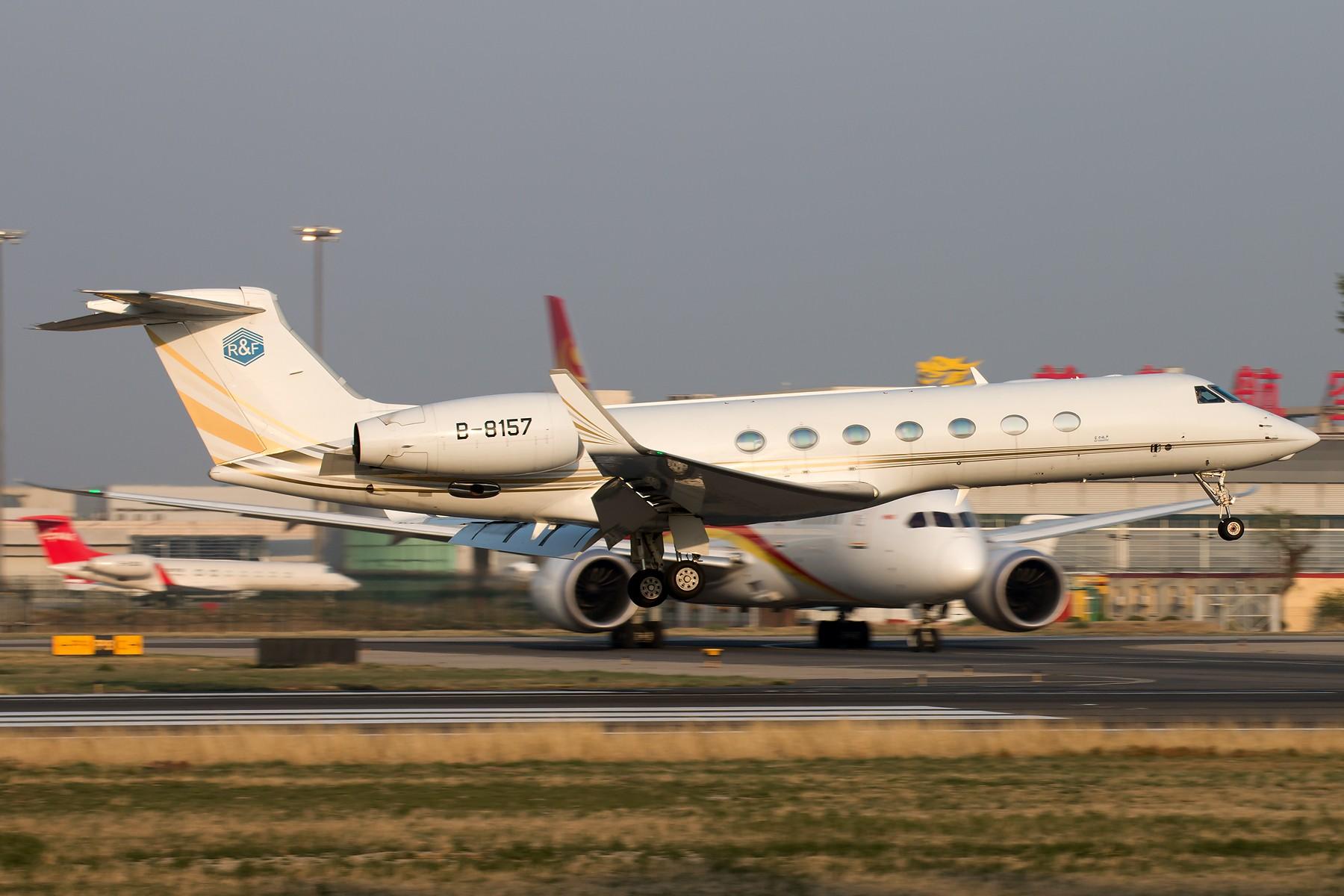 Re:1 8 R 拍 机 1800*1200 [10pics] GULFSTREAM G550 B-8157 中国北京首都国际机场