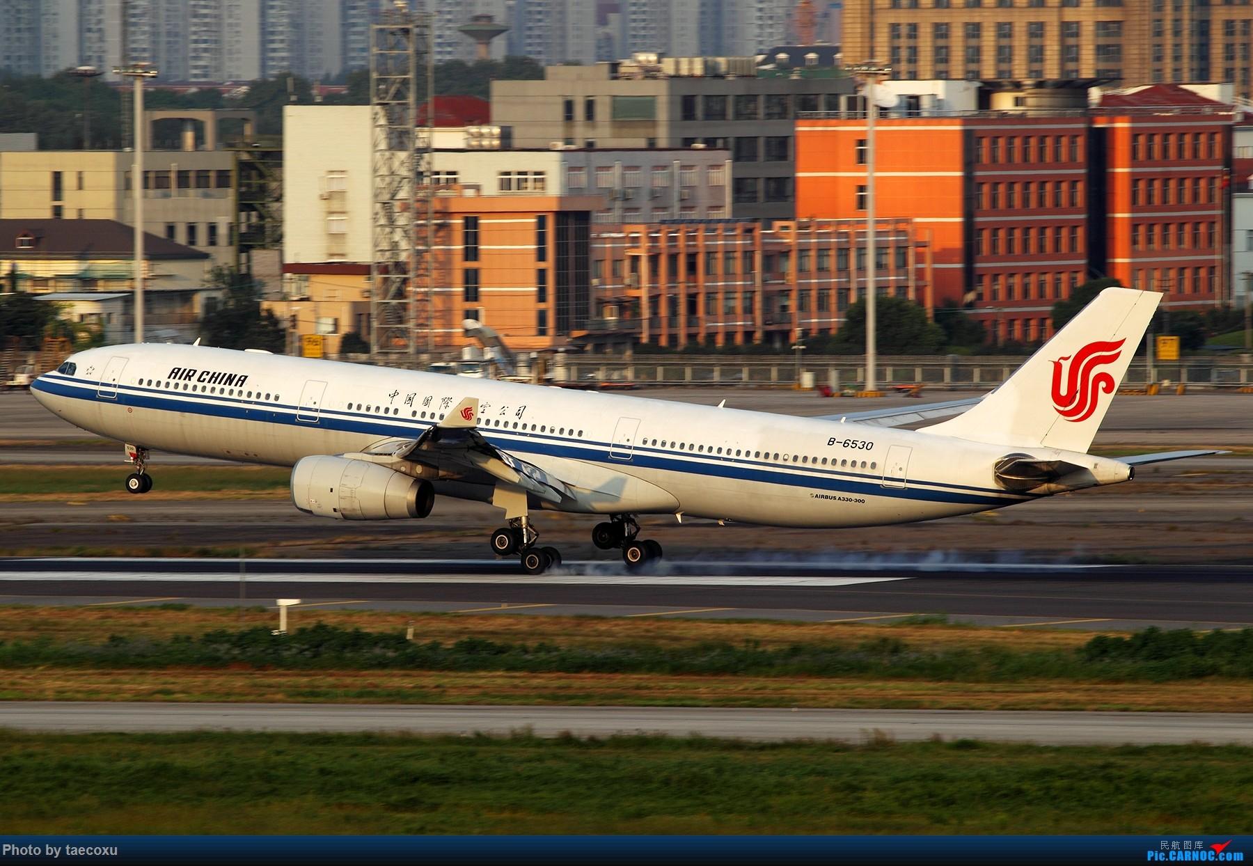 Re:[原创]据说能发大图了 AIRBUS A330-300 B-6530 中国上海虹桥国际机场