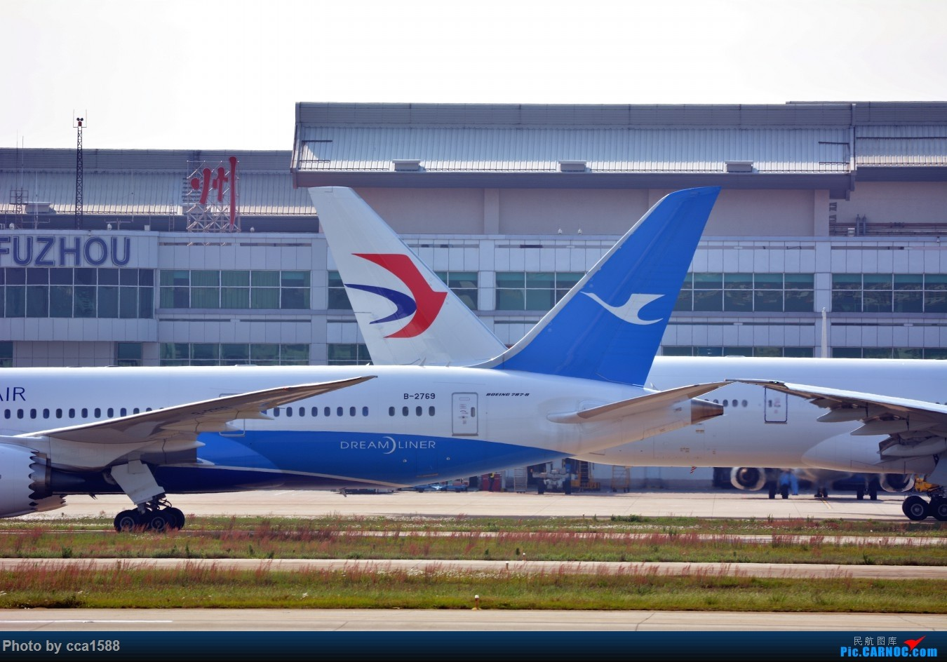 """Re:[原创]【福州飞友会】庆祝""""太空""""回归,一起嗨起来吧~! BOEING 787-8 B-2769 中国福州长乐国际机场"""