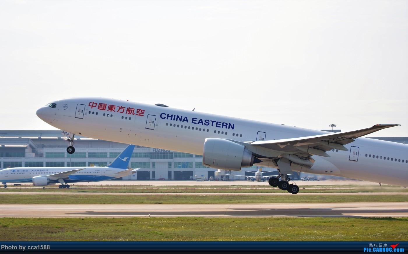 "Re:[原创]【福州飞友会】庆祝""太空""回归,一起嗨起来吧~! BOEING 777-300ER B-2003 中国福州长乐国际机场"