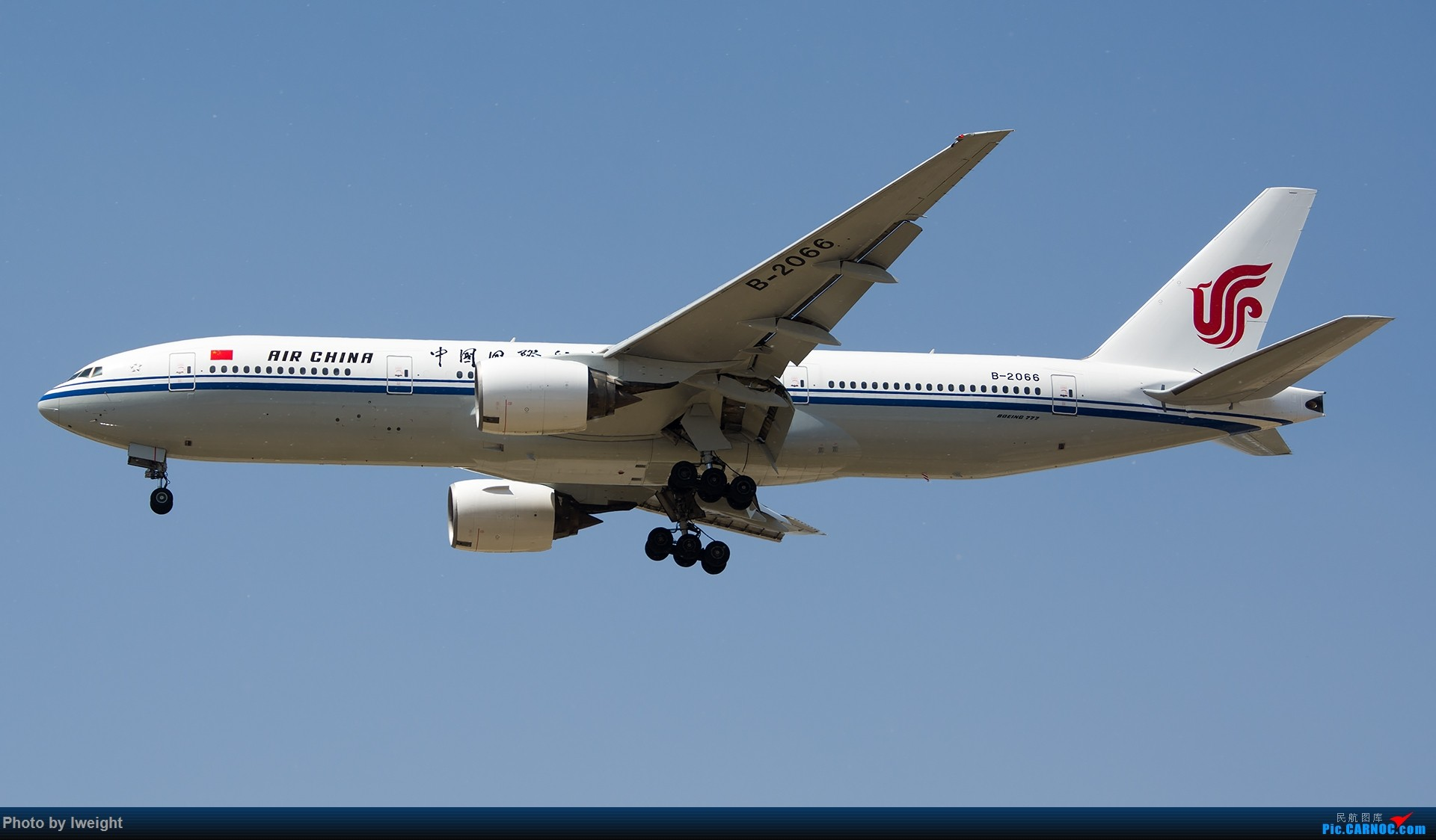 Re:[原创]2015年第一次在PEK拍北向南,其实是为Jimmy去的【2015-4-24】 BOEING 777-200 B-2066 中国北京首都国际机场