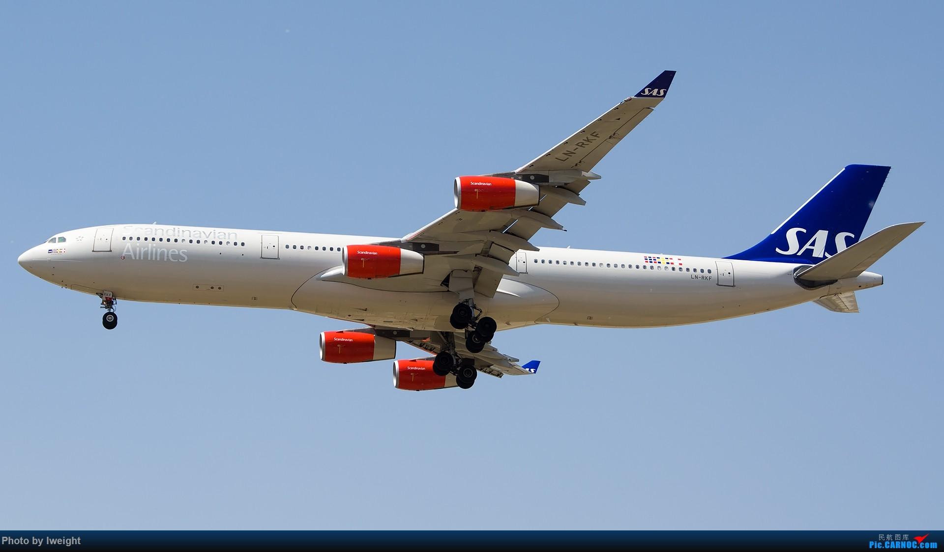 Re:[原创]2015年第一次在PEK拍北向南,其实是为Jimmy去的【2015-4-24】 AIRBUS A340-300 LN-RKF 中国北京首都国际机场